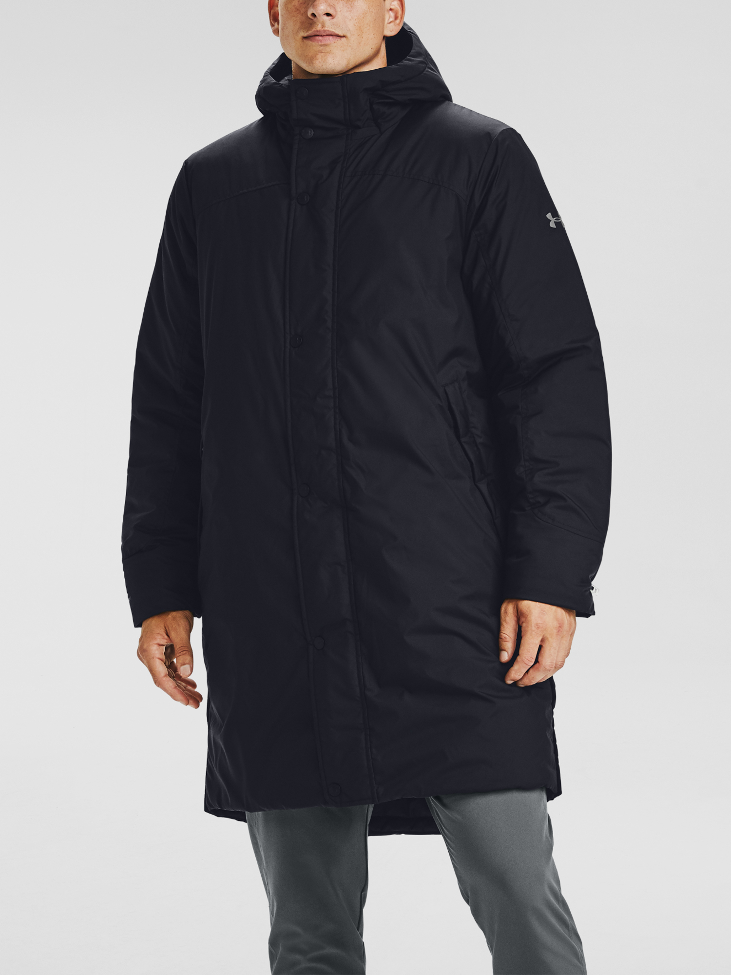 Bunda Under Armour Armour Insulated Bench Coat-BLK (1)