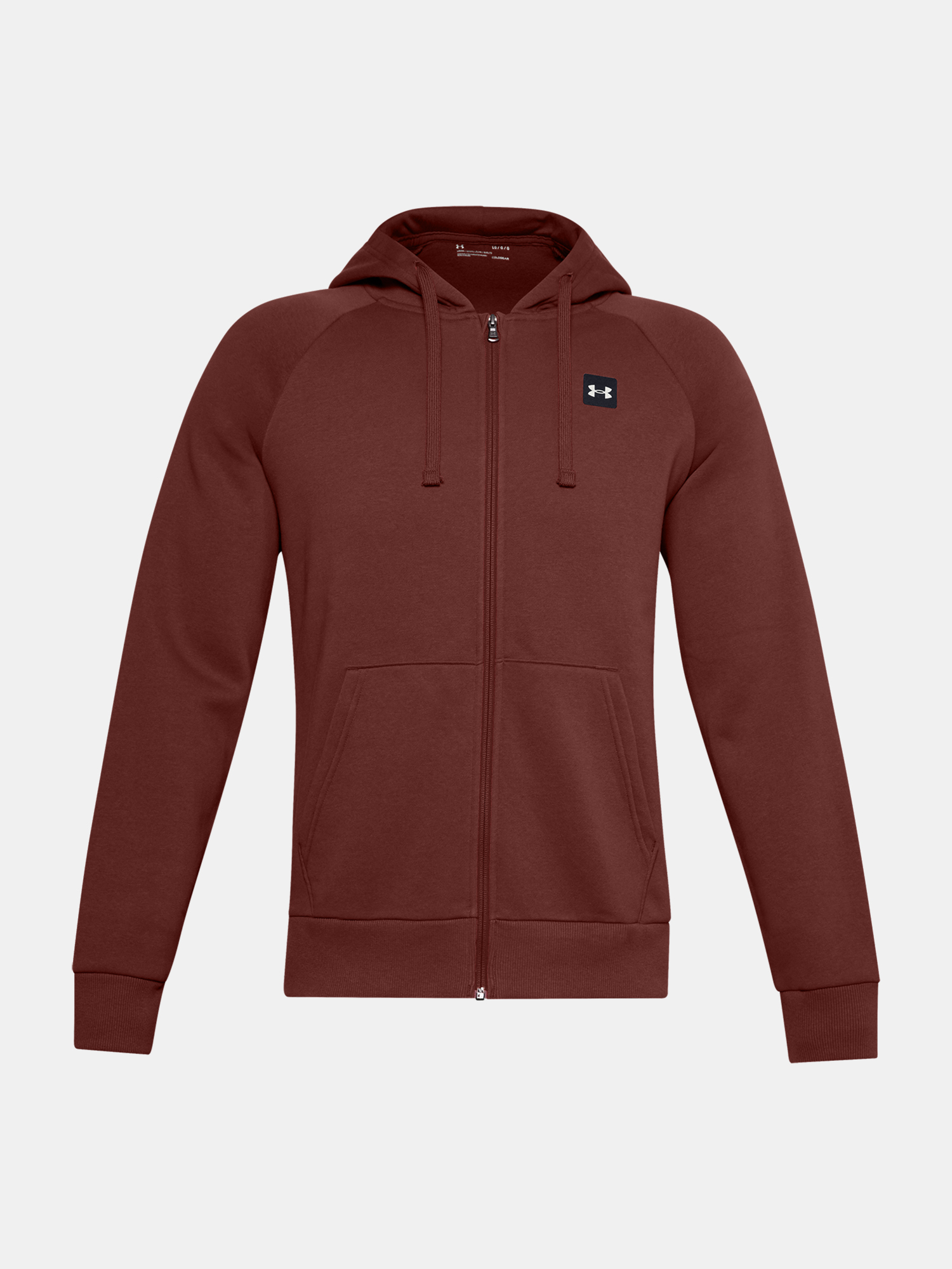 Mikina Under Armour UA Rival Fleece FZ Hoodie-RED (1)