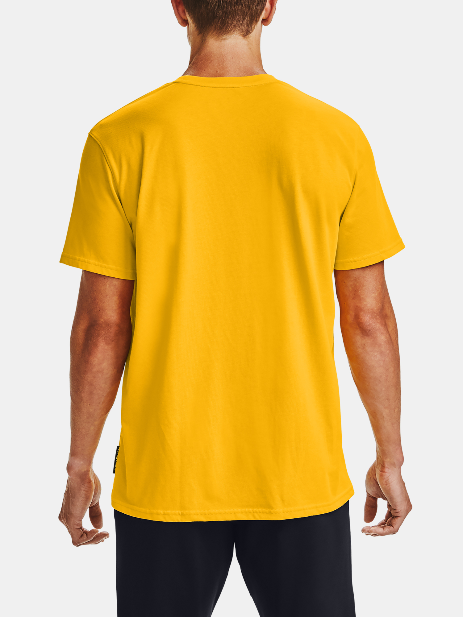 Tričko Under Armour CURRY EMBROIDERED TEE-YLW (2)