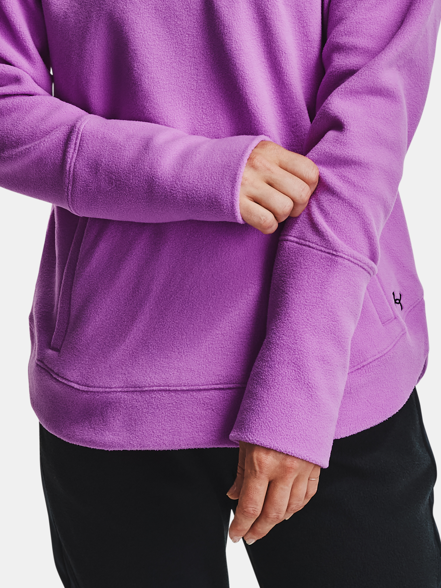 Mikina Under Armour Recover Fleece Hoodie-PPL (8)