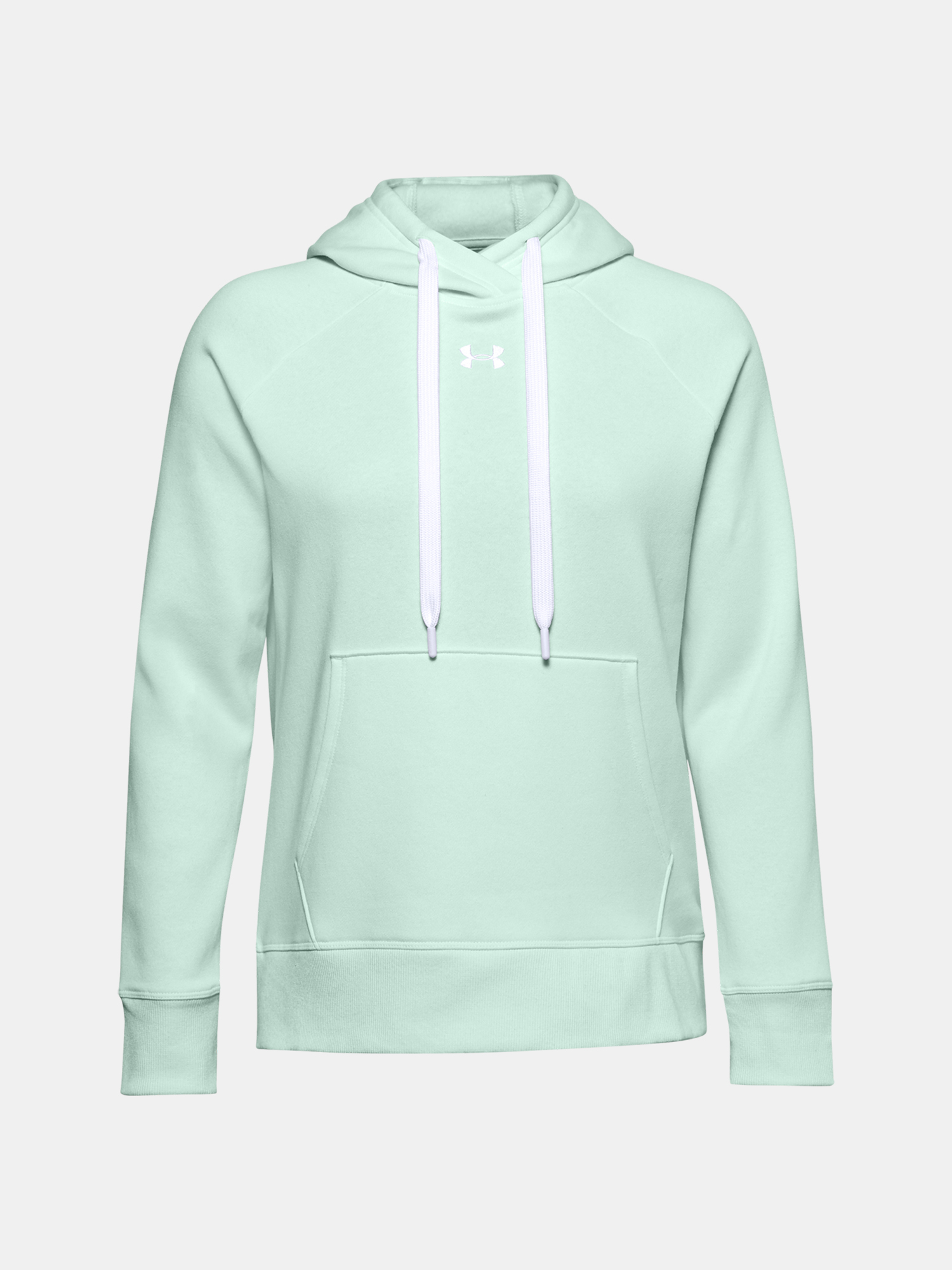 Mikina Under Armour Rival Fleece HB Hoodie-BLU (1)