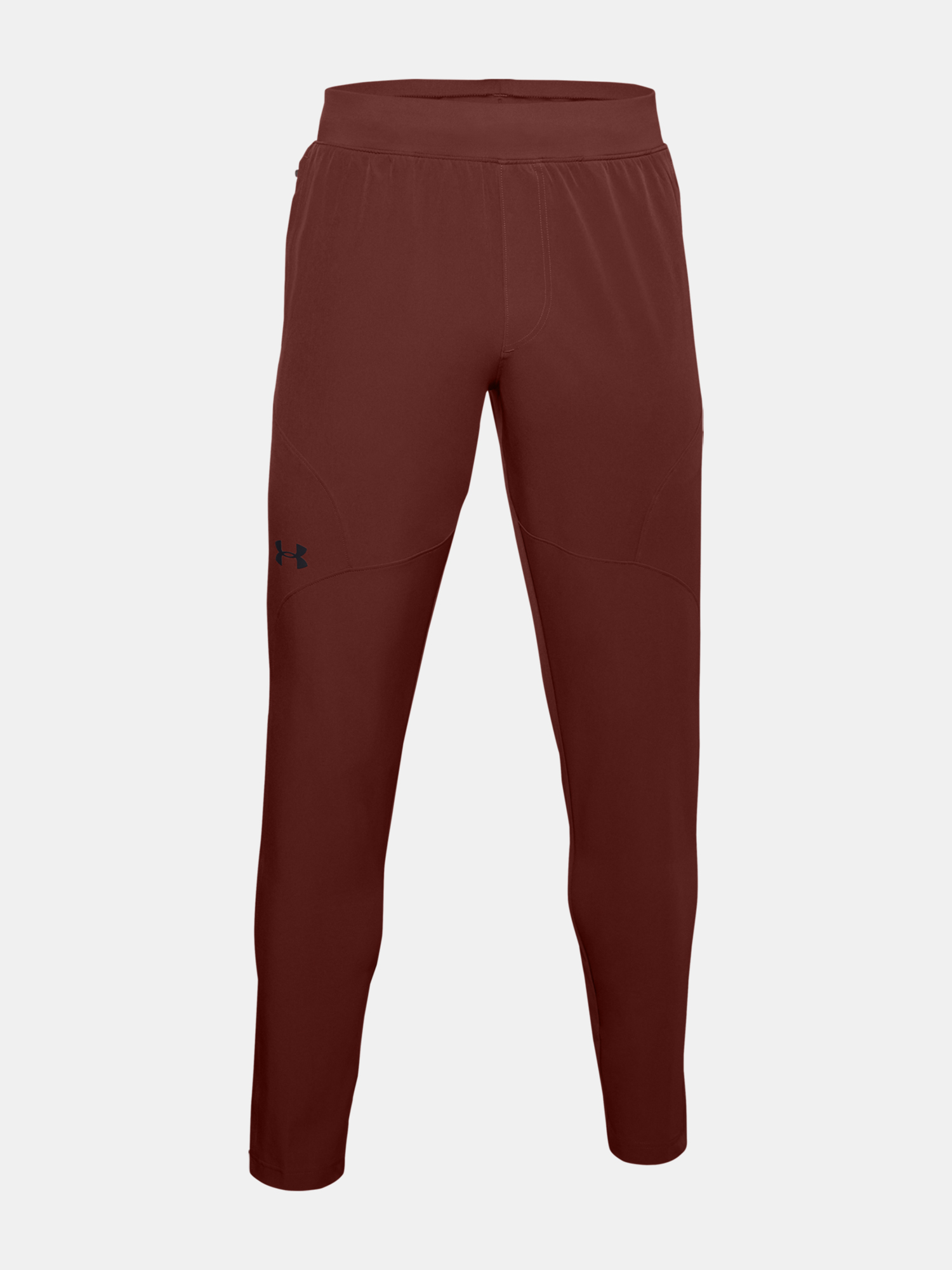 Tepláky Under Armour UA UNSTOPPABLE TAPERED PANTS-RED (1)
