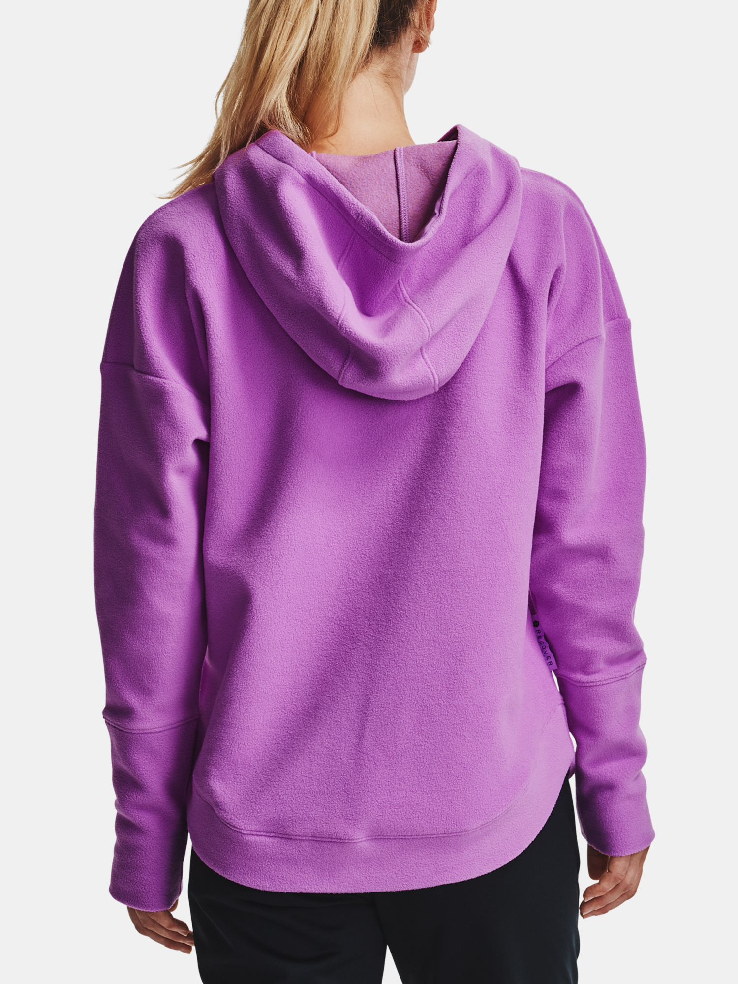 Mikina Under Armour Recover Fleece Hoodie-PPL (2)