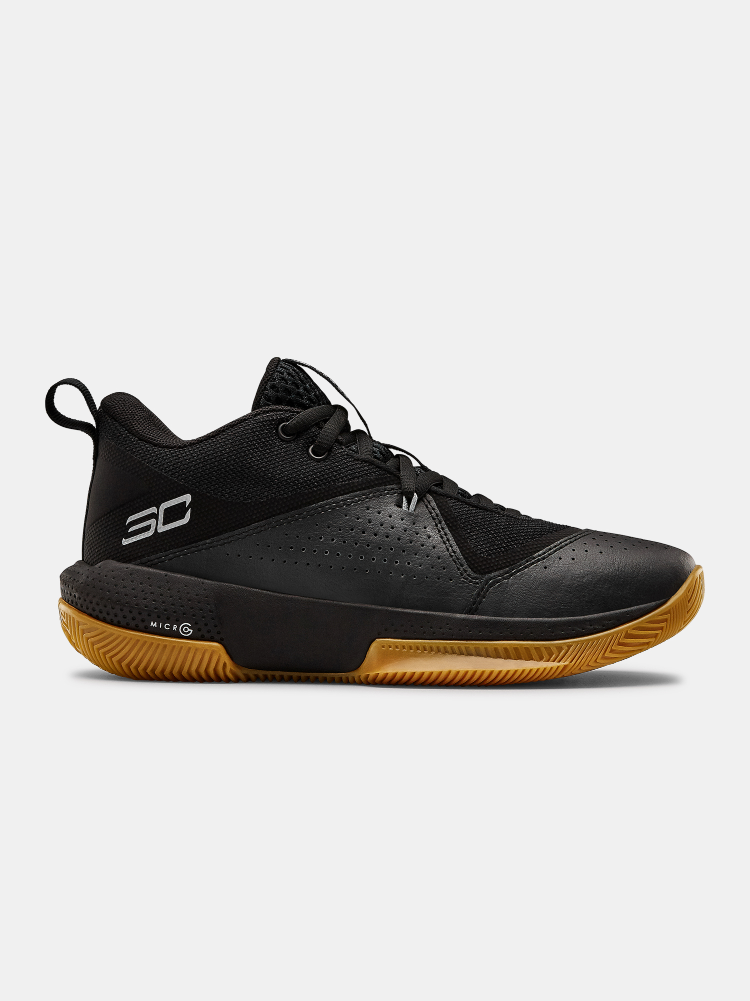 Boty Under Armour GS SC 3ZER0 IV-BLK (1)