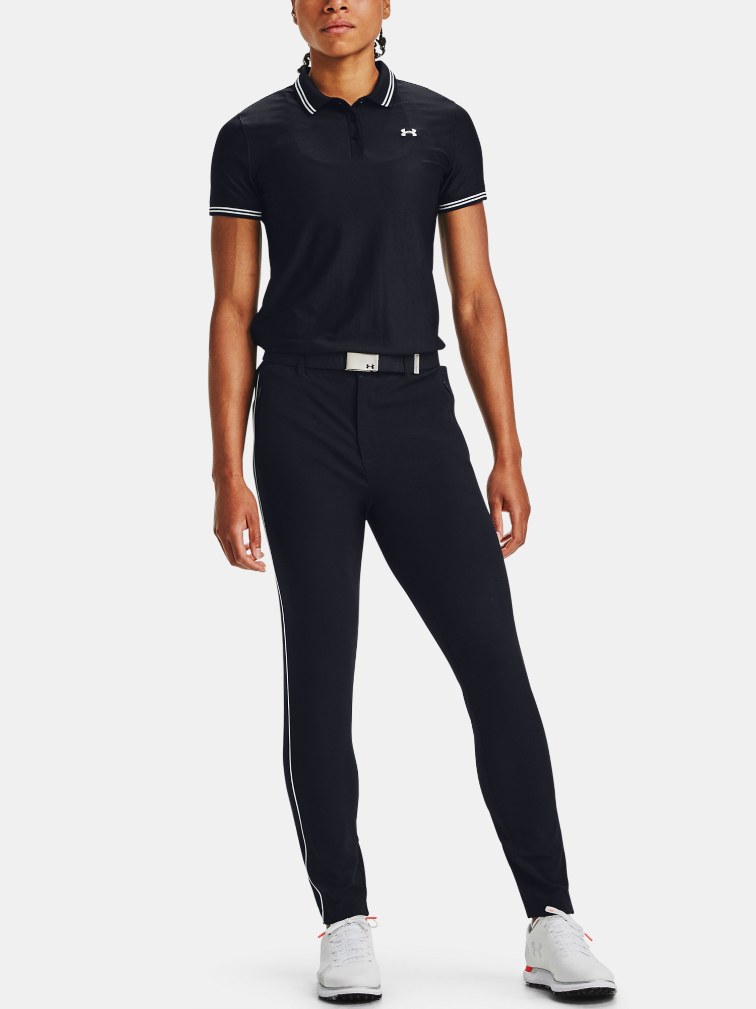Tričko Under Armour Zinger Pique Polo-BLK (6)