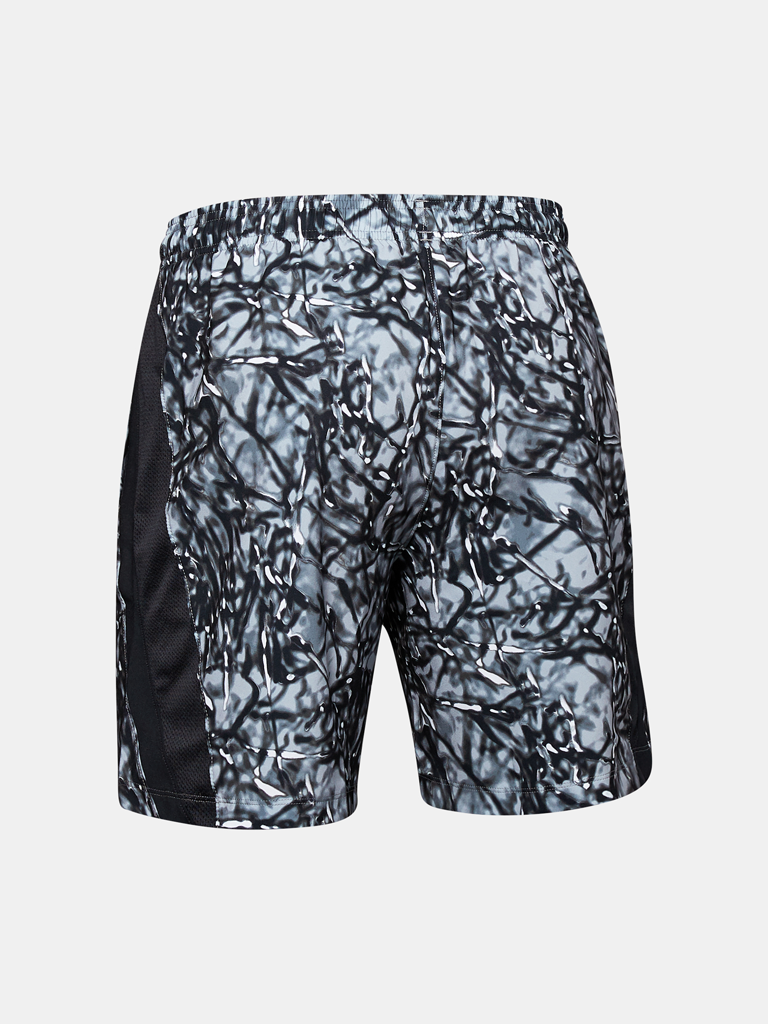 Kraťasy Under Armour LAUNCH SW 7'' PRINTED SHORT-BLK (5)