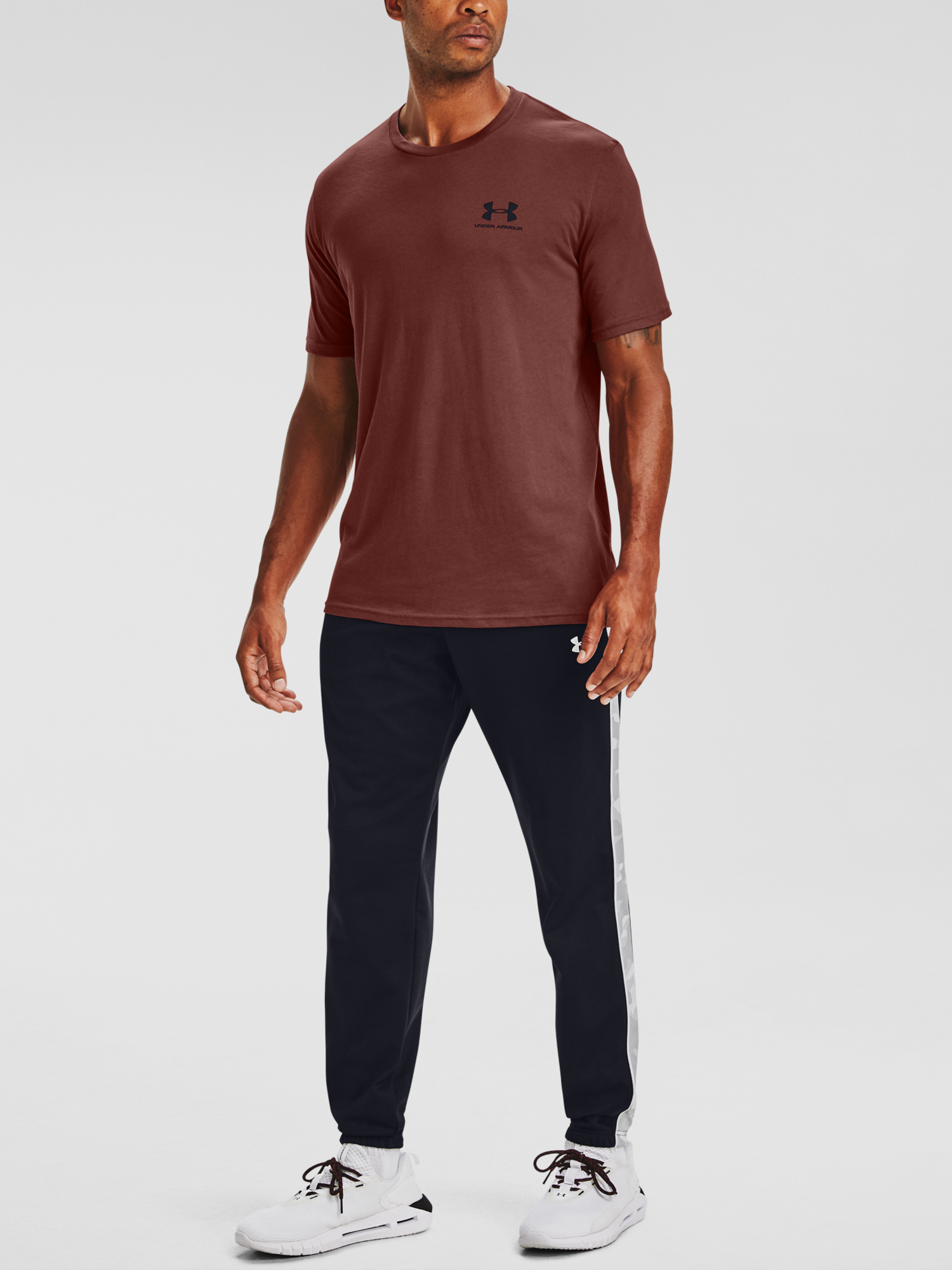 Tričko Under Armour UA SPORTSTYLE LC SS-RED (1)