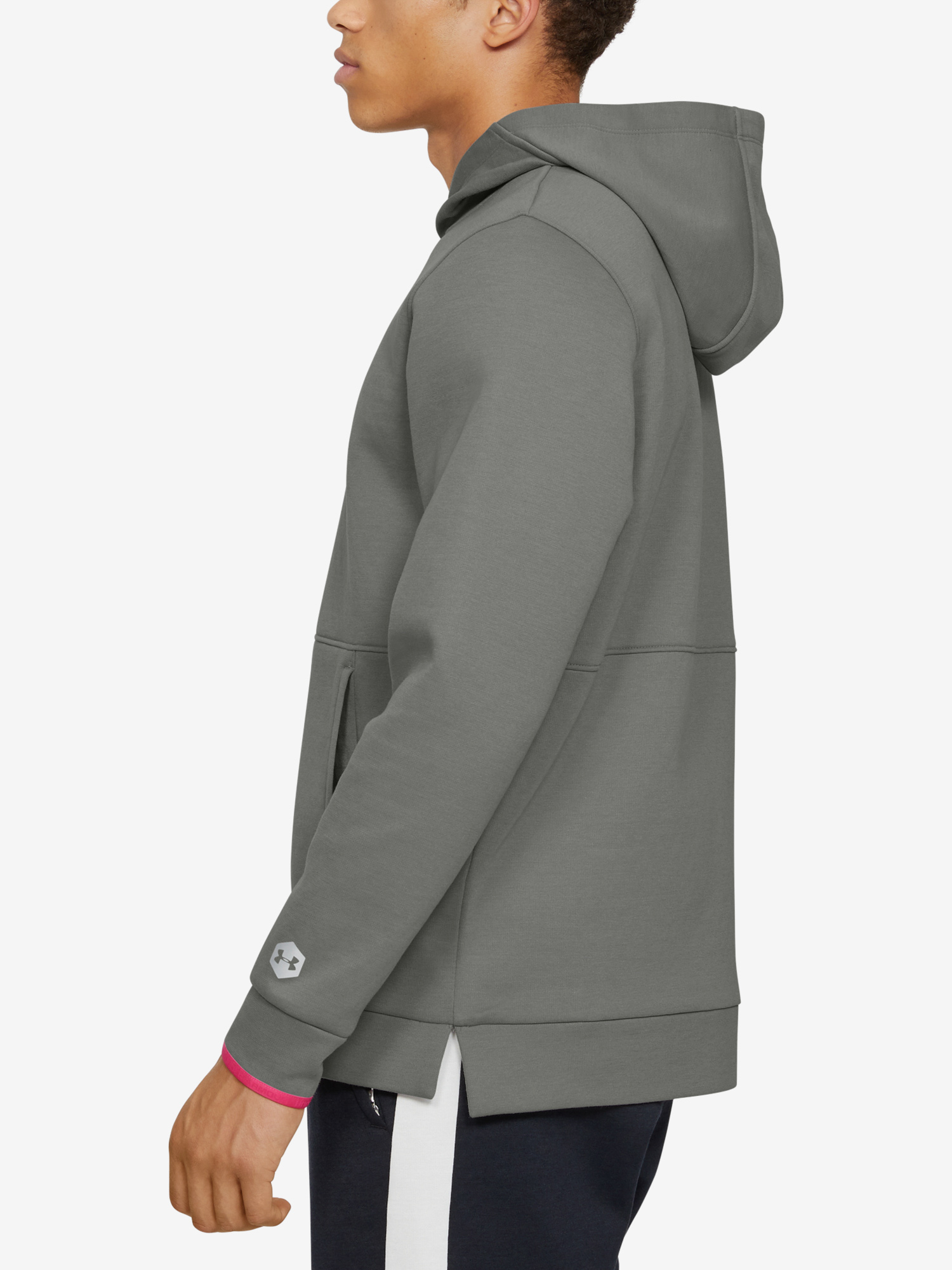 Mikina Under Armour Athlete Recovery Fleece Graphic Hoodie-G (3)