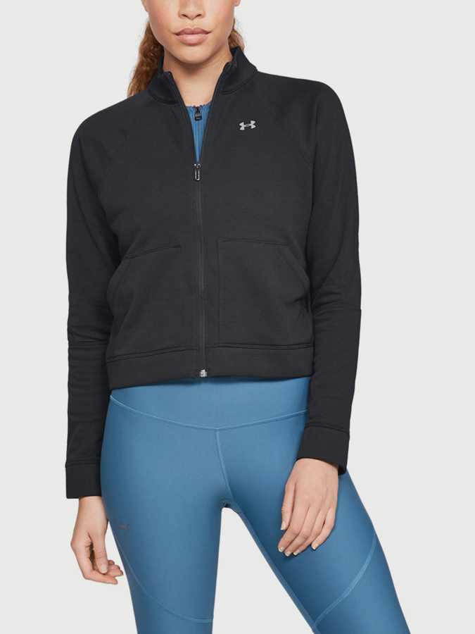Mikina Under Armour Favorite Terry FZ Bomber (1)