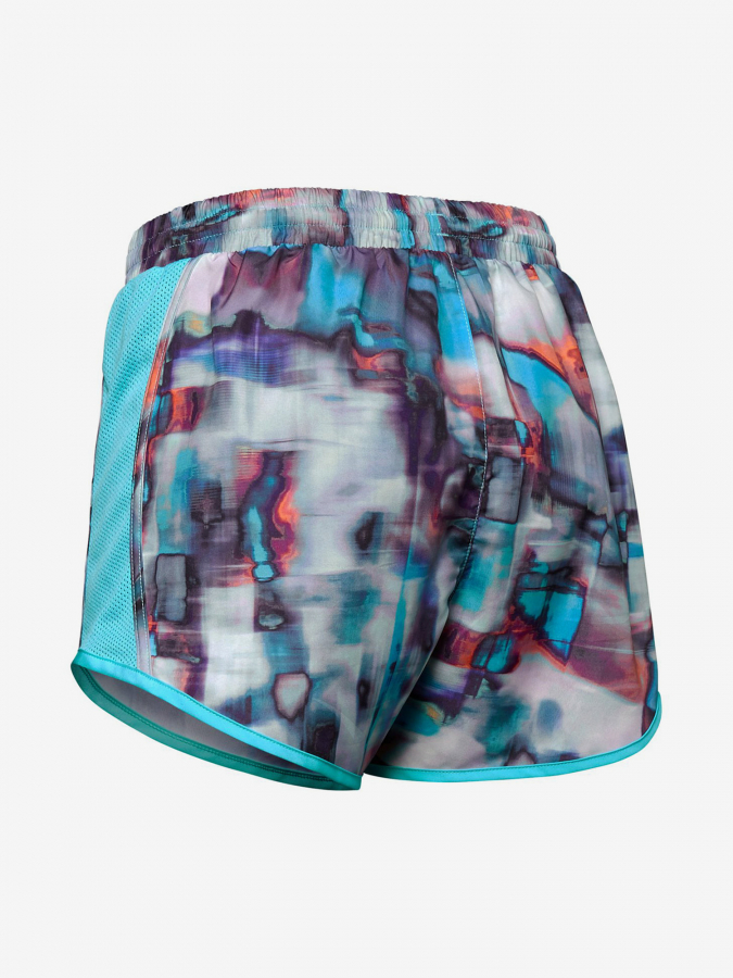 Kraťasy Under Armour Fly By Printed Short-Wht (4)