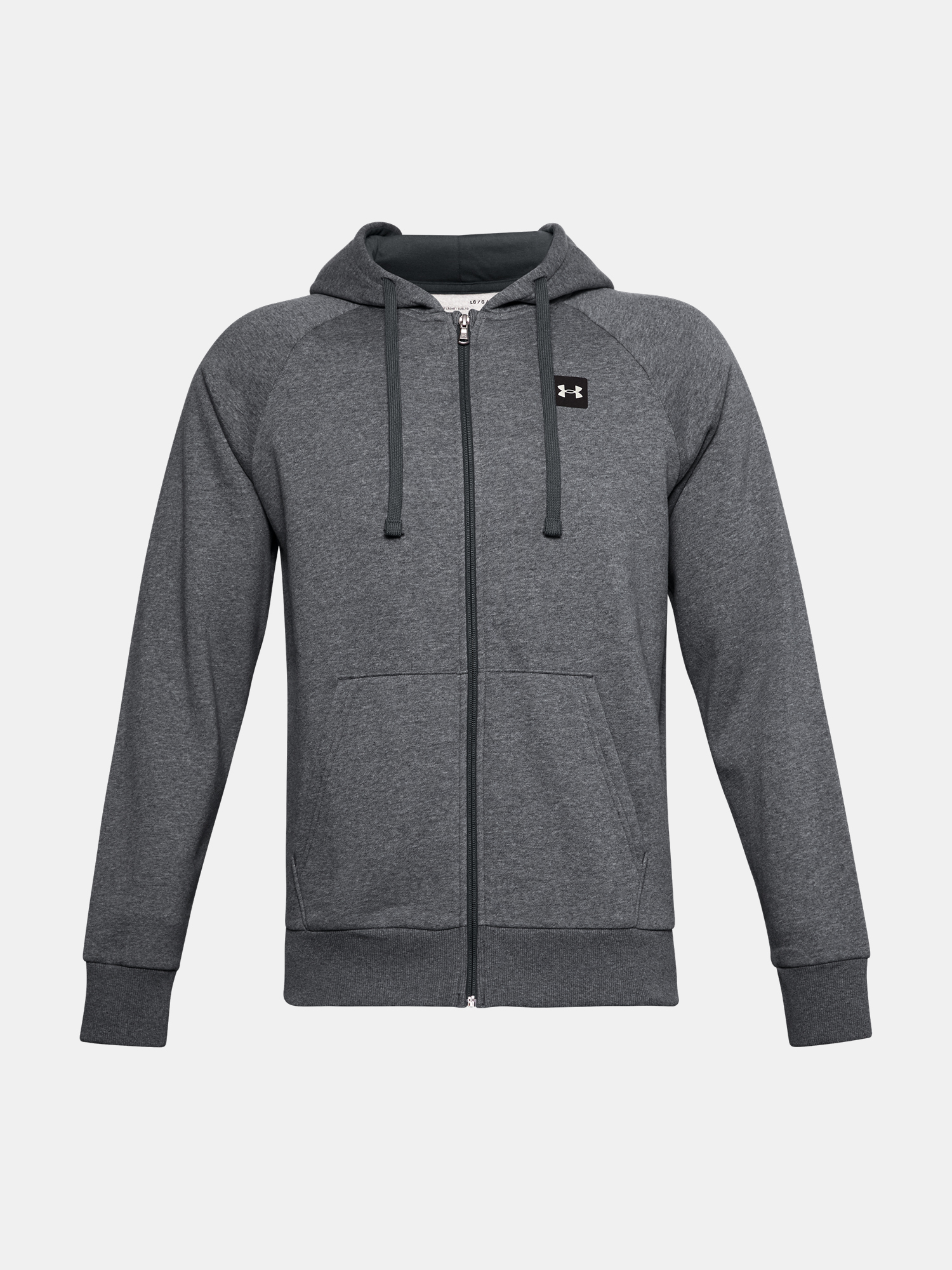 Mikina Under Armour UA Rival Fleece FZ Hoodie-GRY (5)