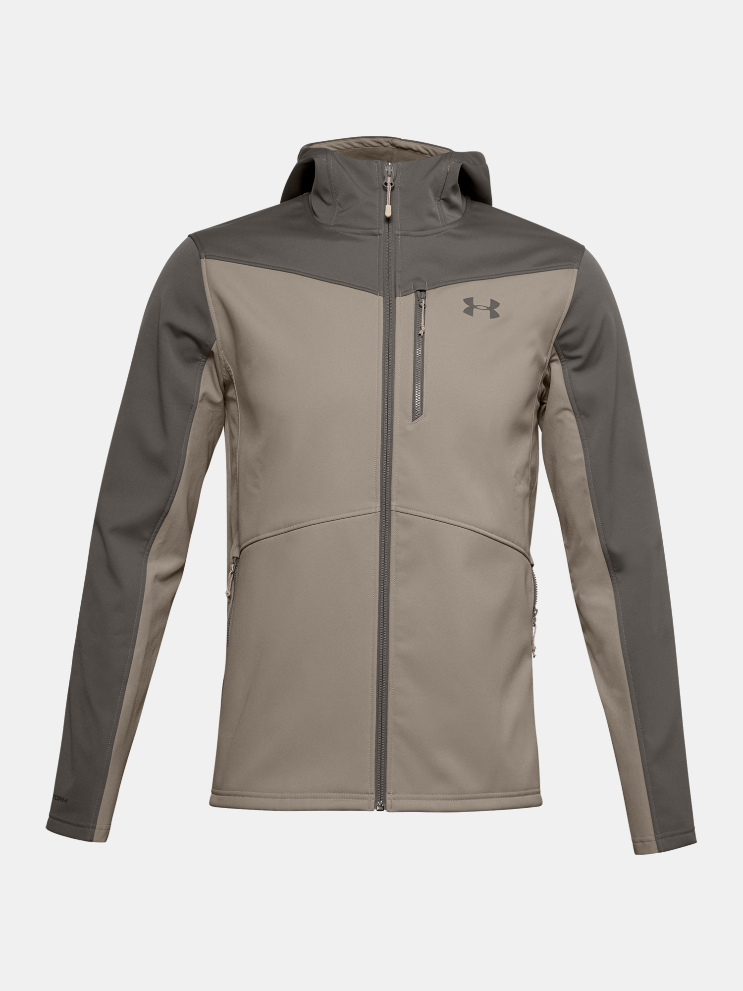Bunda Under Armour UA CGI Shield Hooded FZ-BRN (1)