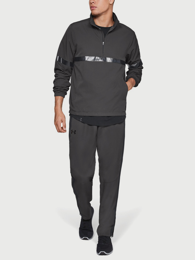 Mikina Under Armour Sportstyle Woven 1/2 Zip (5)