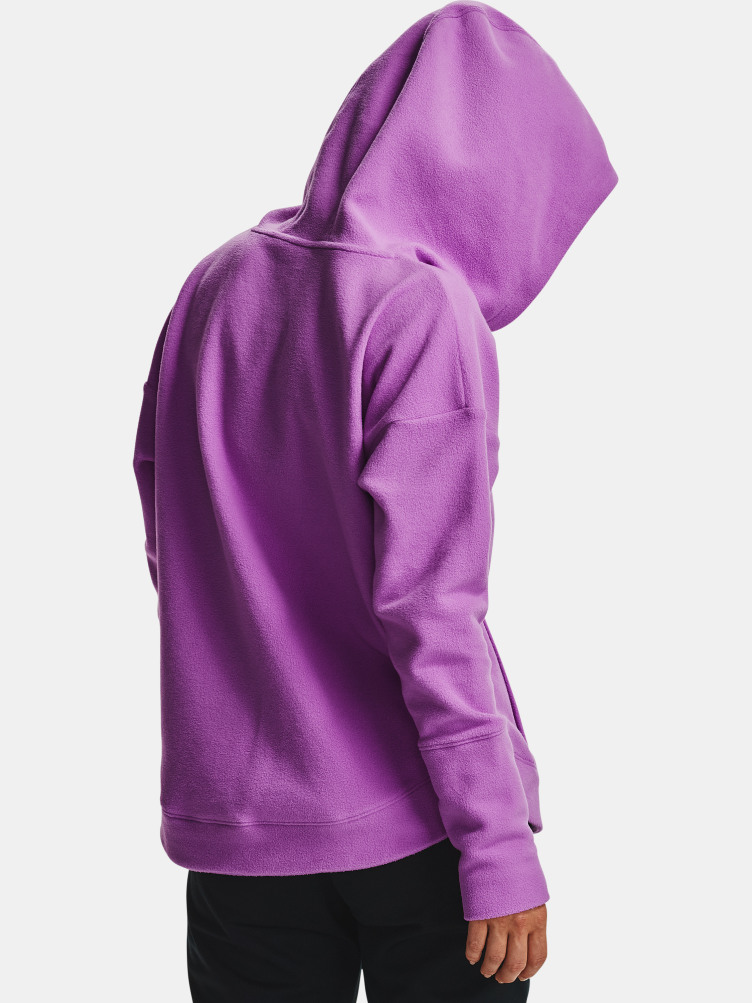 Mikina Under Armour Recover Fleece Hoodie-PPL (6)