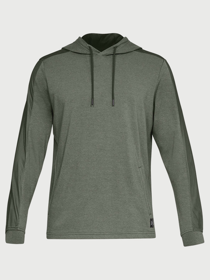Mikina Under Armour Microthread Terry Po Hoodie (3)