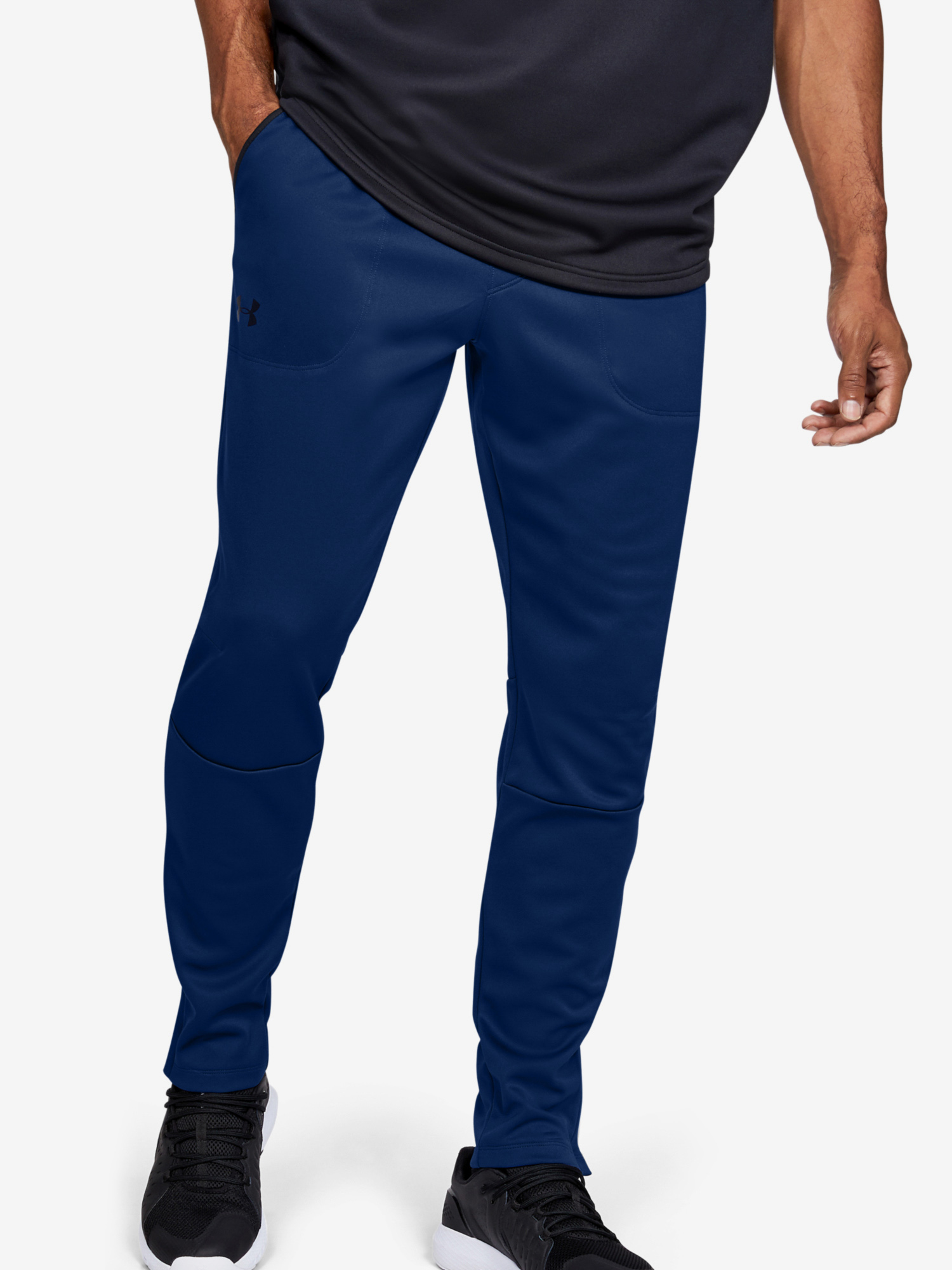 Tepláky Under Armour MK1 Warmup Pant-BLU (1)