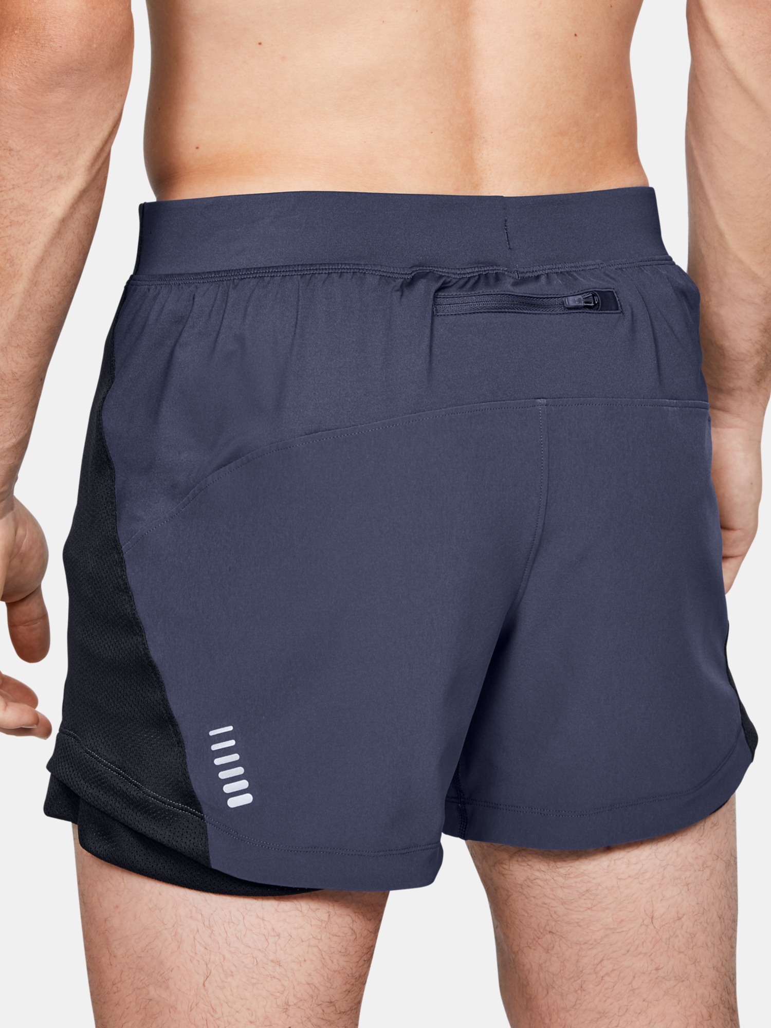 Kraťasy Under Armour Qlifier Speedpocket 5'' Short (2)