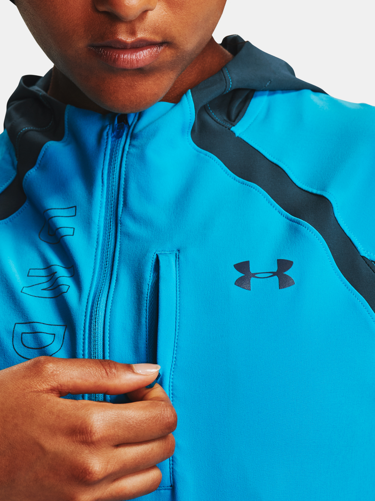 Bunda Under Armour  Qlifier STORM Jacket (5)
