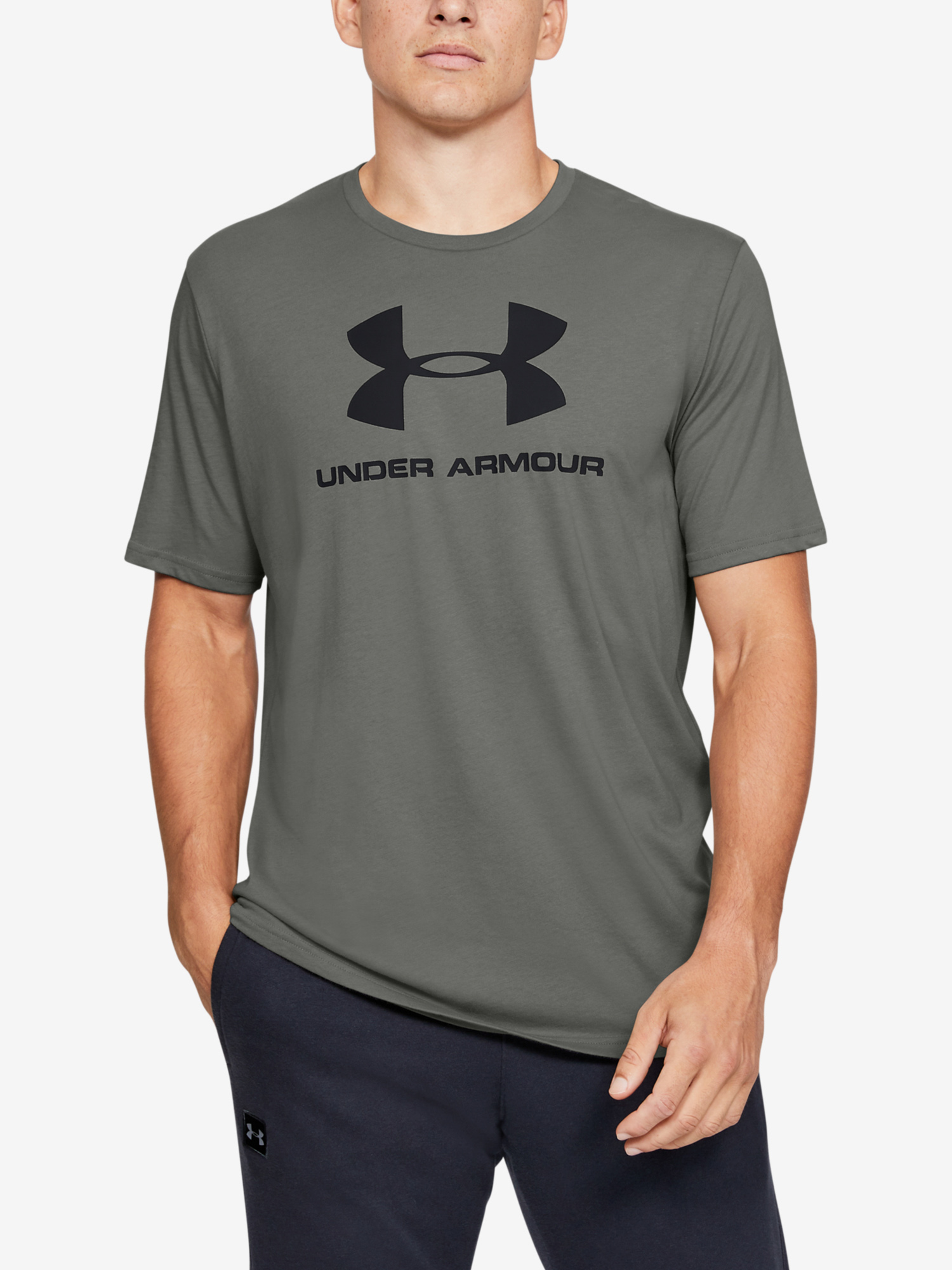 Tričko Under Armour Sportstyle Logo Ss (1)