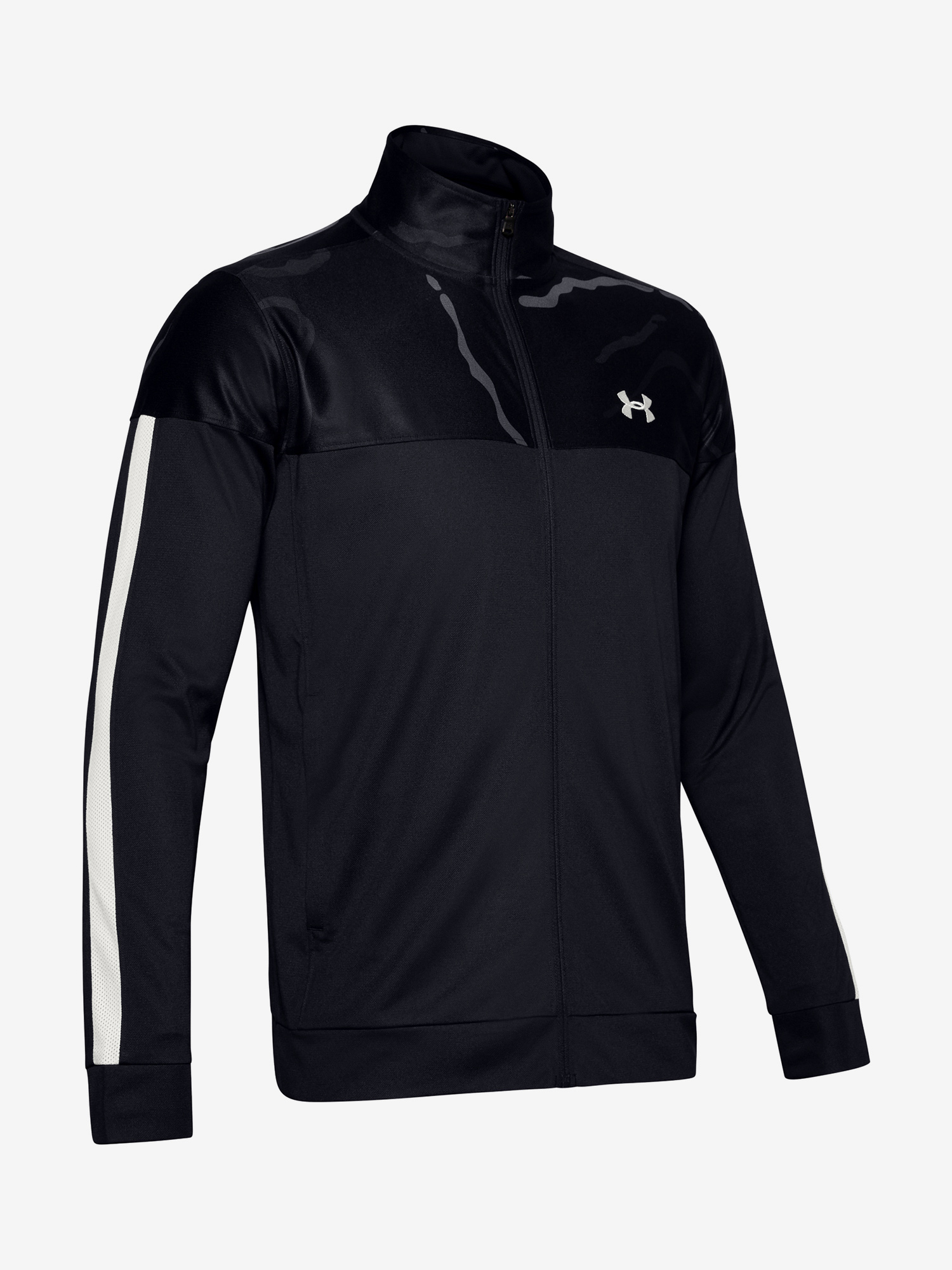 Mikina Under Armour Sportstyle Pique Printed Track Jacket (1)