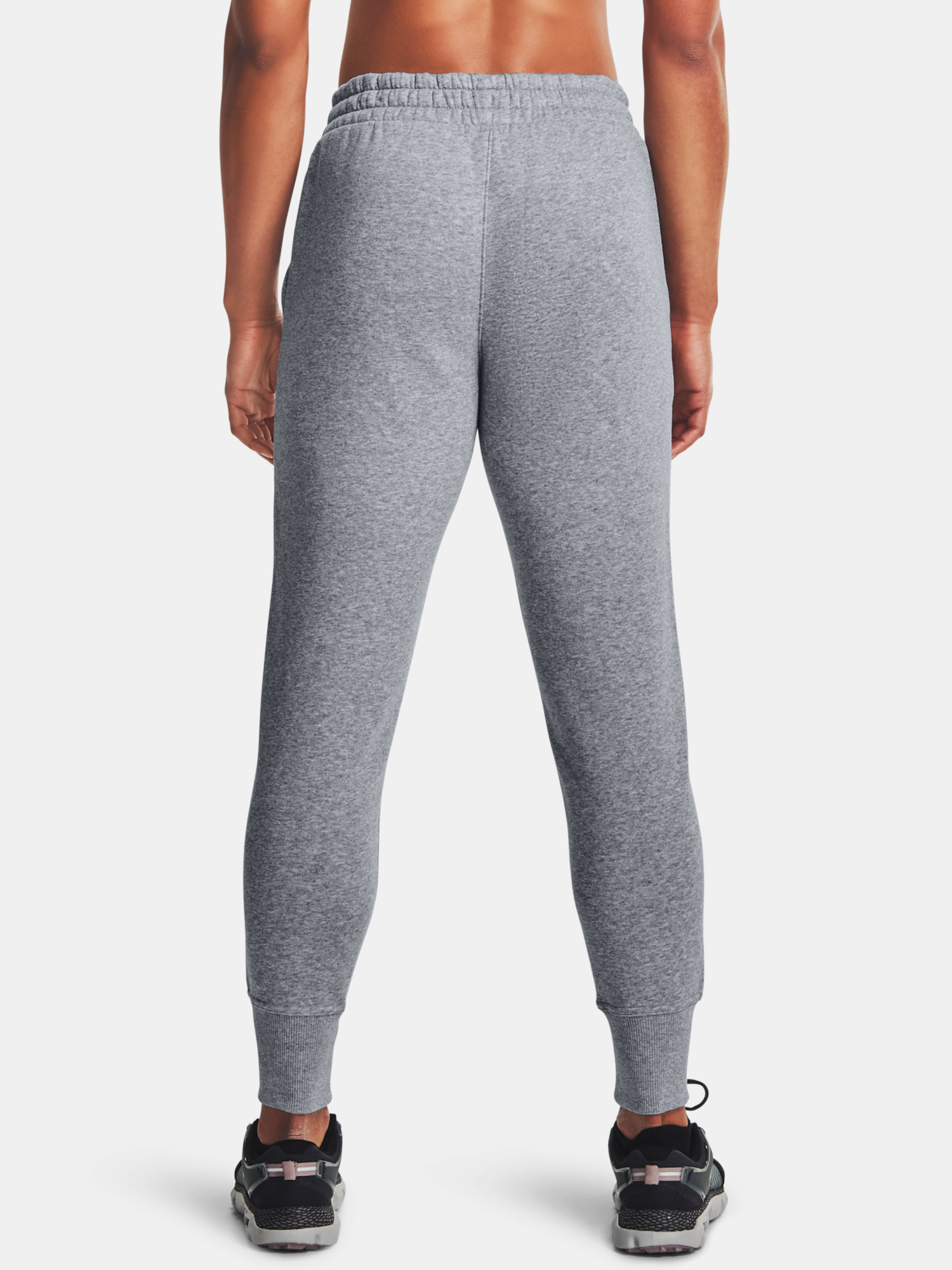 Kalhoty Under Armour Rival Fleece Pants-AMP-GRY (2)