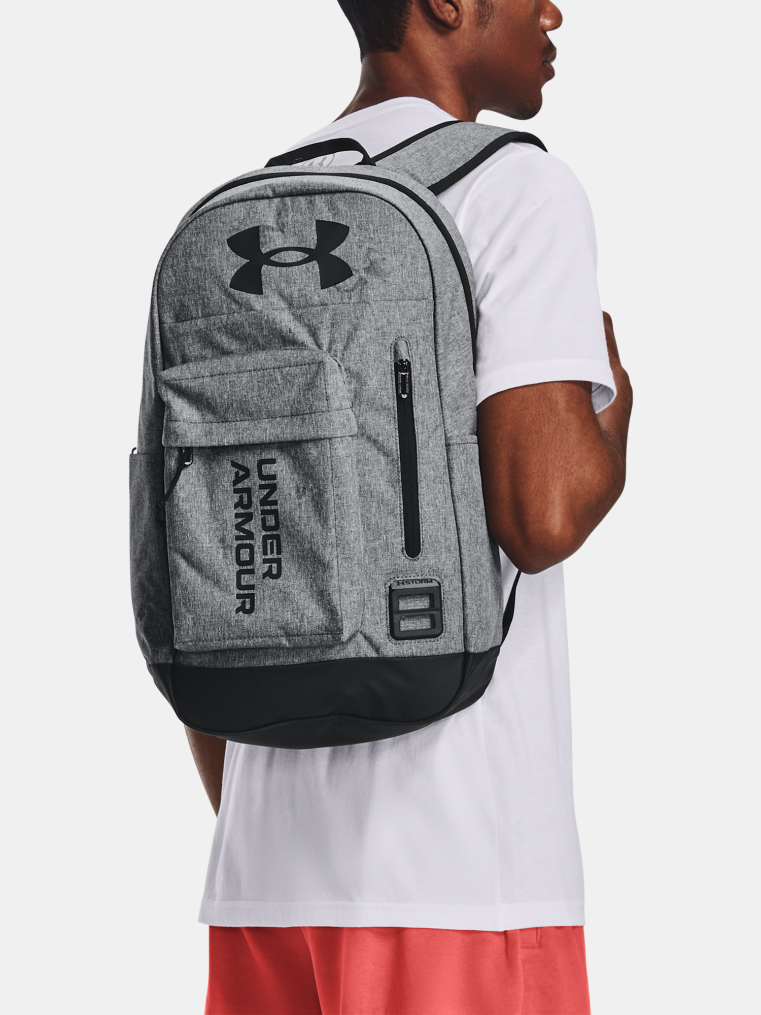 Batoh Under Armour Halftime Backpack-GRY (1)