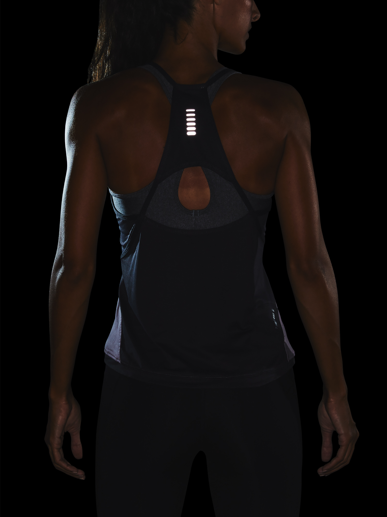 Tílko Under Armour W  Qlifier ISO-CHILL Tank-PPL (6)