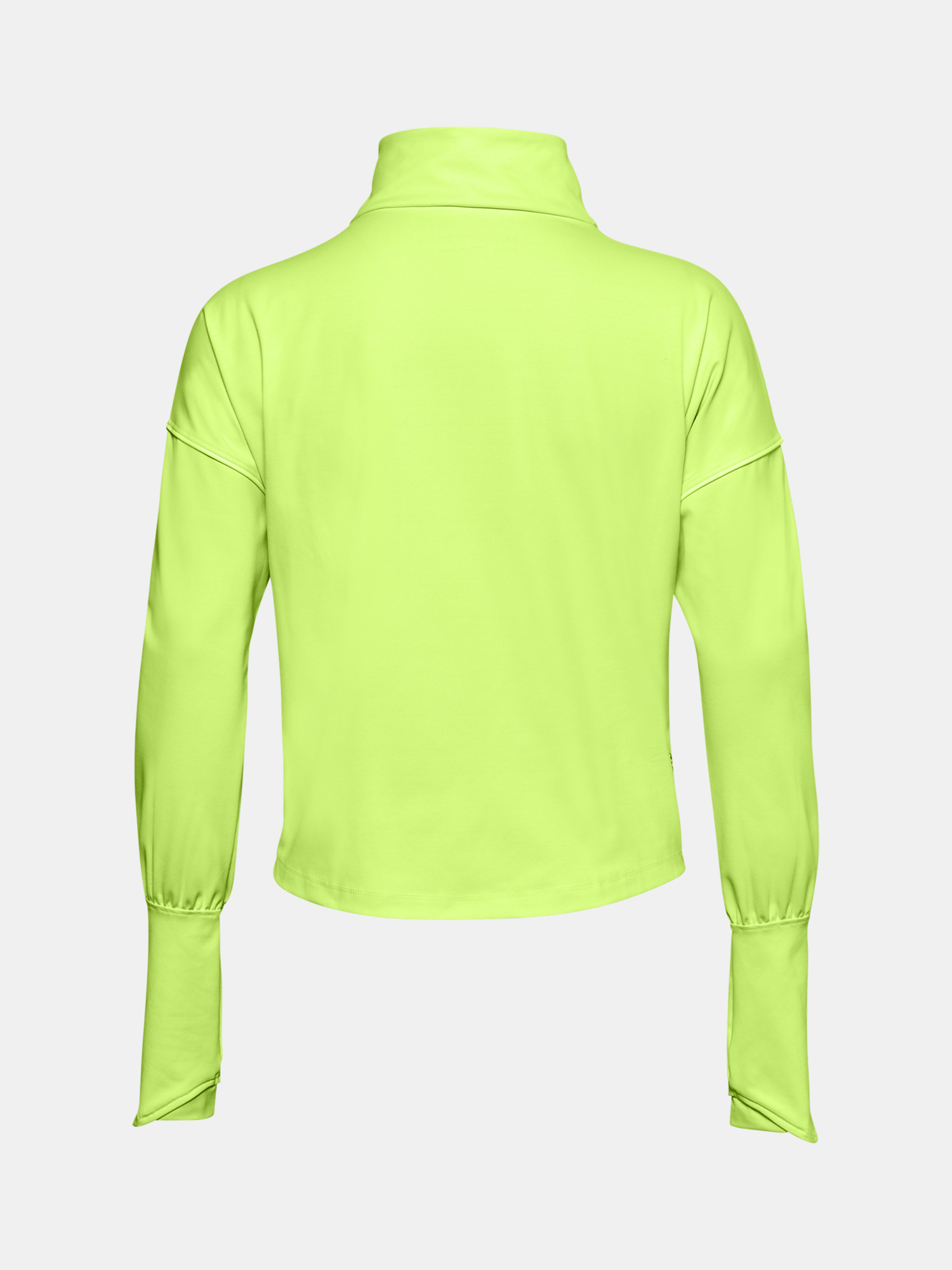 Tričko Under Armour CG Rush 1/2 Zip-GRN (4)
