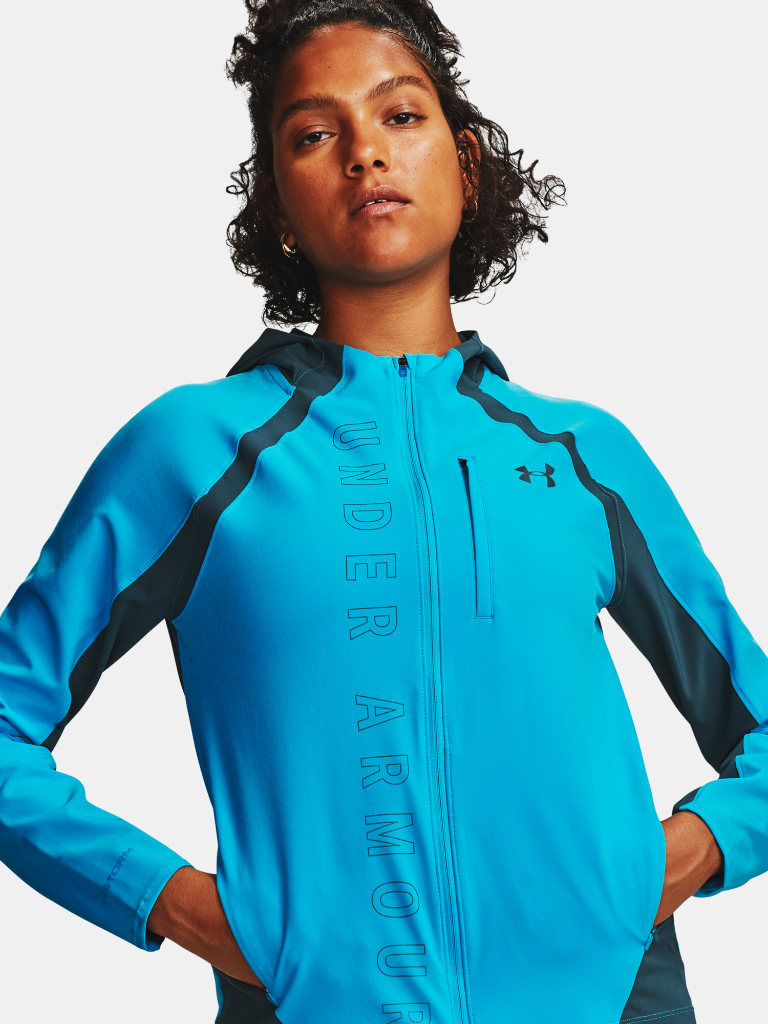 Bunda Under Armour  Qlifier STORM Jacket (1)