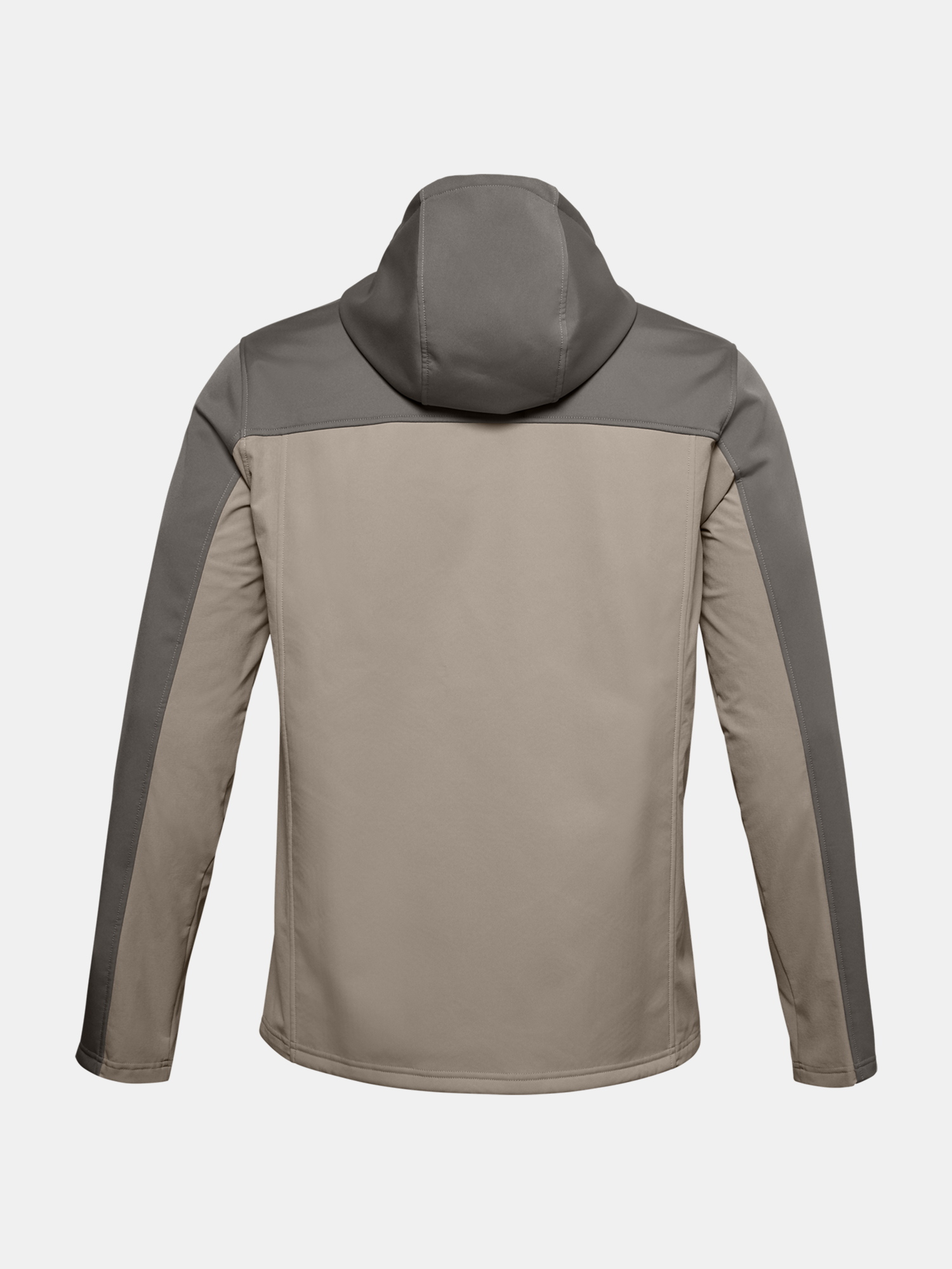Bunda Under Armour UA CGI Shield Hooded FZ-BRN (2)