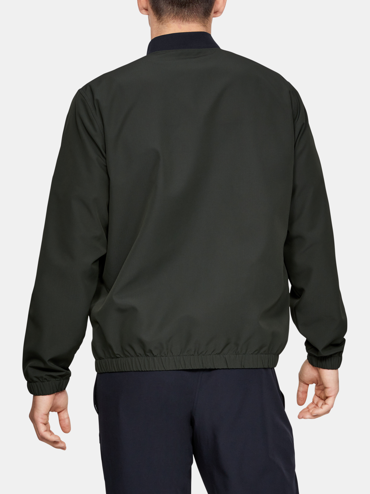 Bunda Under Armour Unstoppable Essential Bomber-Grn (2)
