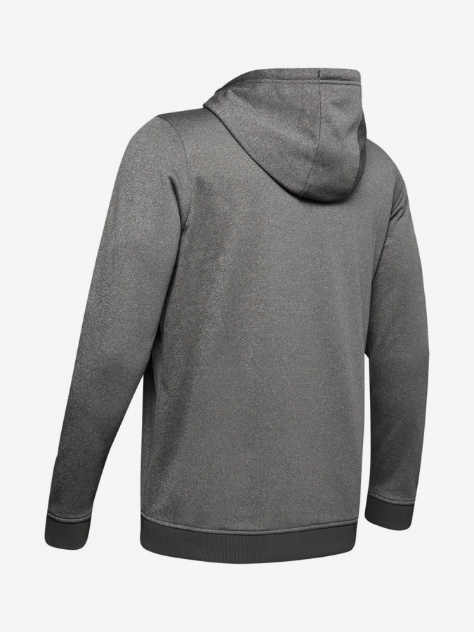 Mikina Under Armour Fleece Po Hoodie-Gry (2)