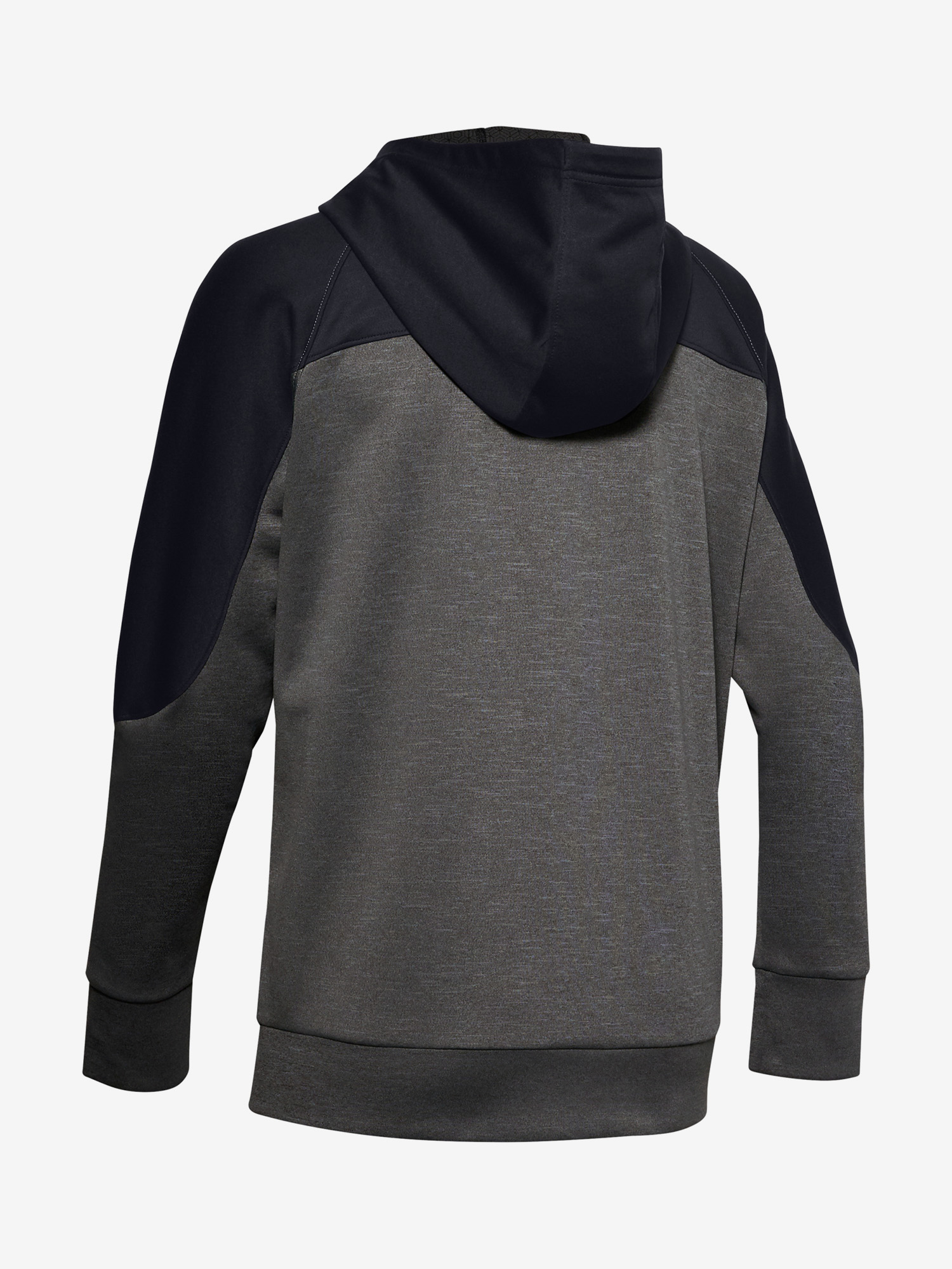 Mikina Under Armour Recover Knit FZ Hoodie-GRY (4)