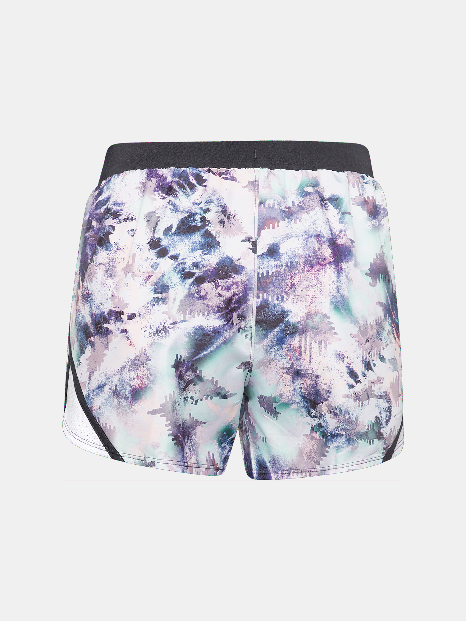 Kraťasy Under Armour UA Fly By 2.0 Printed Short-BLU (2)