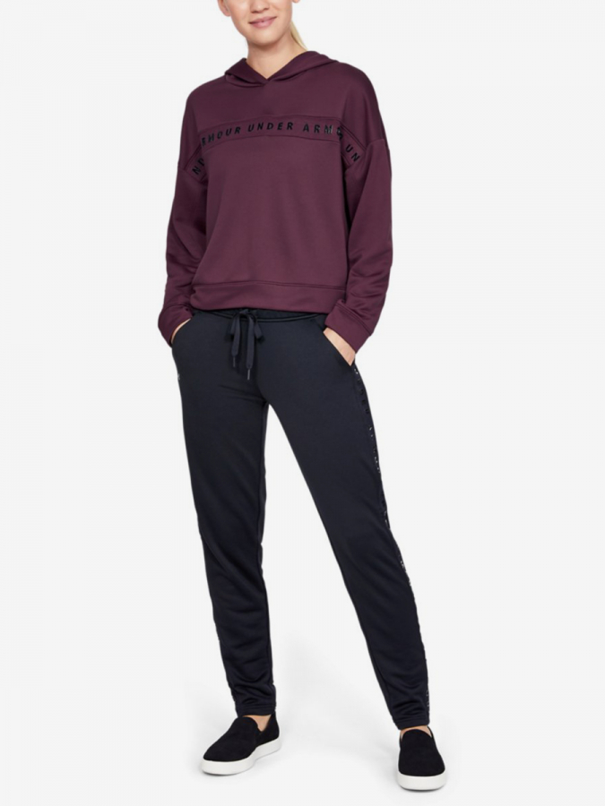 Mikina Under Armour Tech Terry Hoody-Ppl (5)