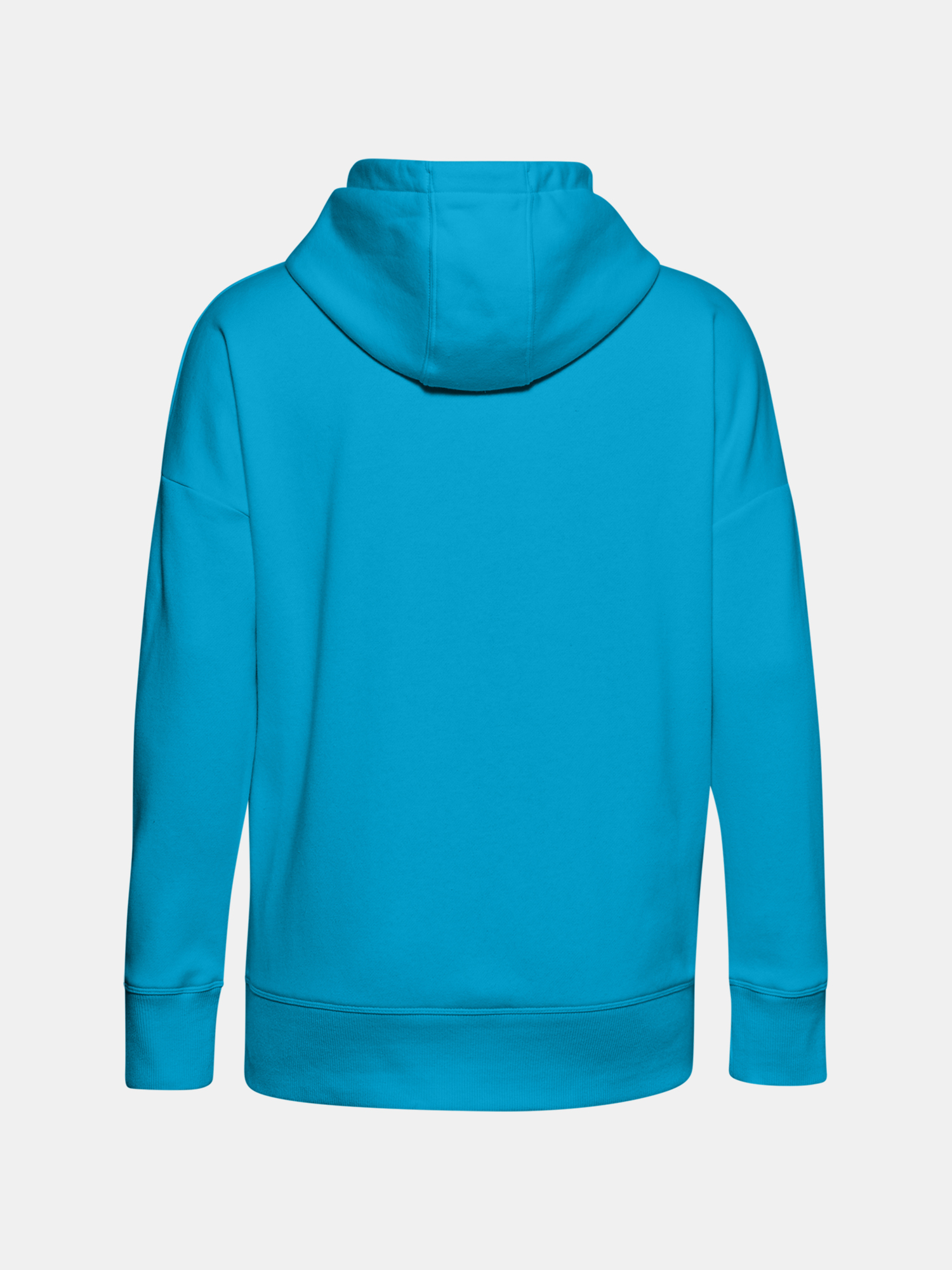 Mikina Under Armour Rival Fleece FZ Hoodie-BLU (2)