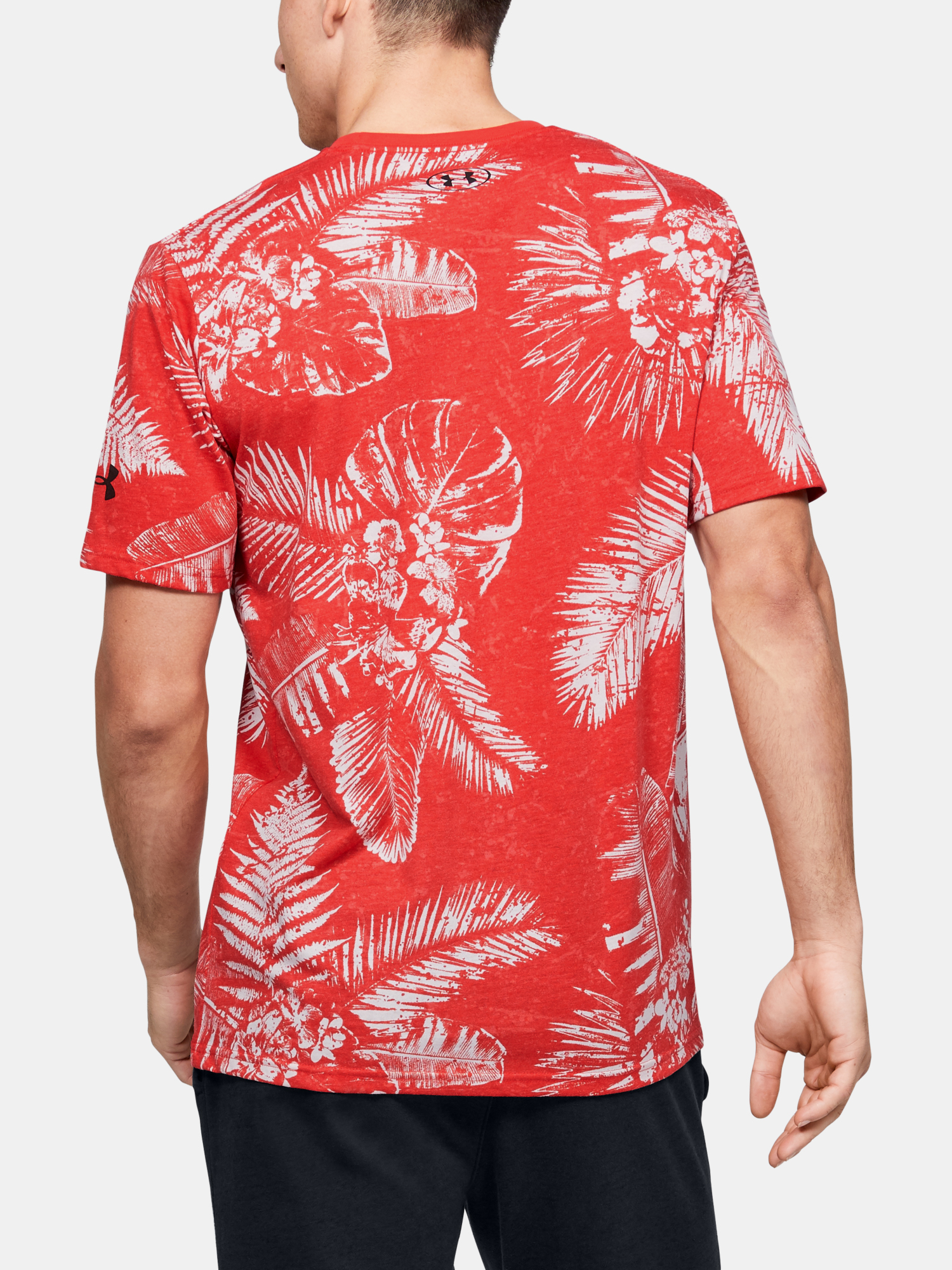 Tričko Under Armour Pjt Rock Aloha Camo Ss (2)
