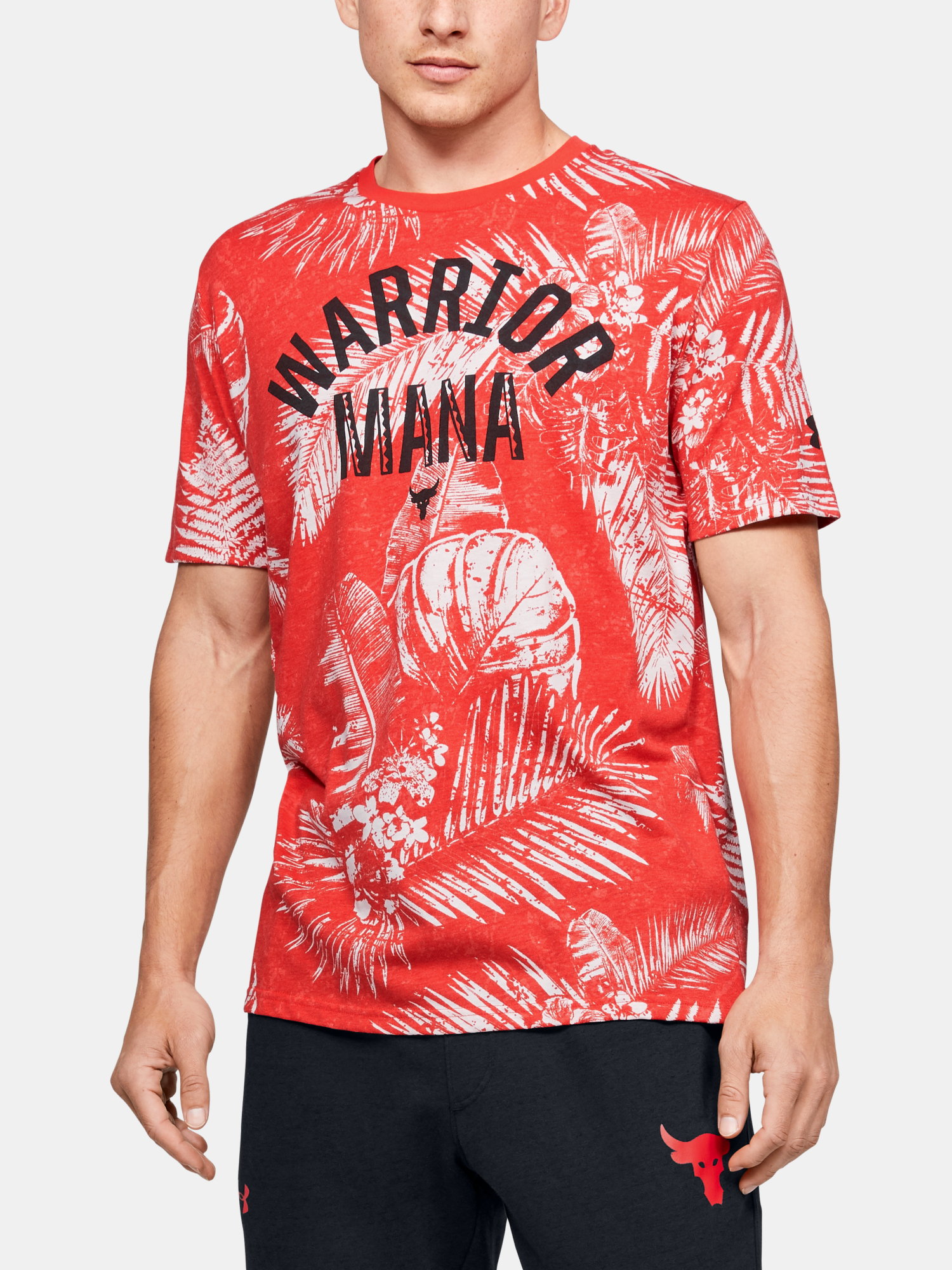Tričko Under Armour Pjt Rock Aloha Camo Ss (1)