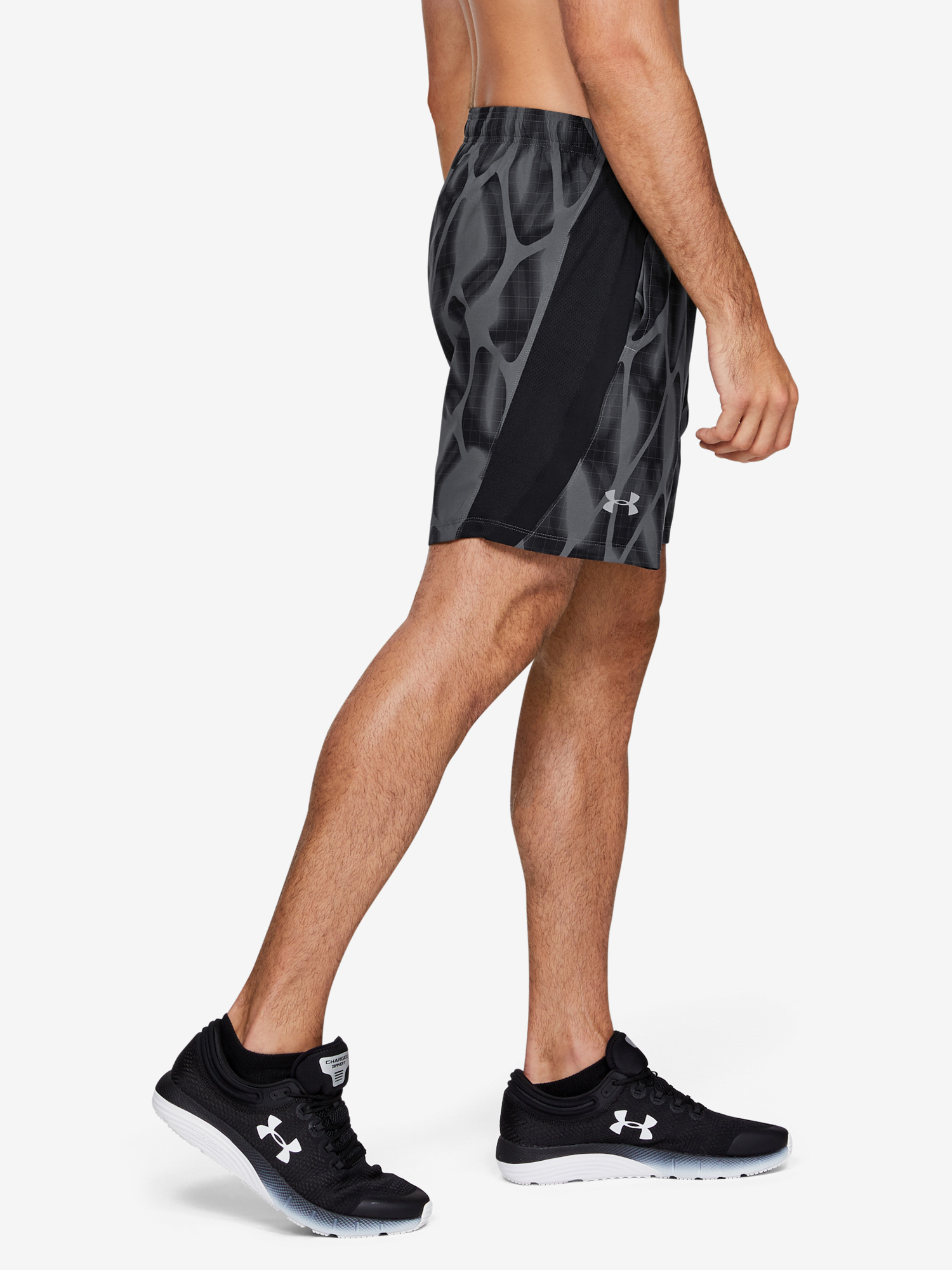 Kraťasy Under Armour Launch Sw 7'' Printed Short (3)