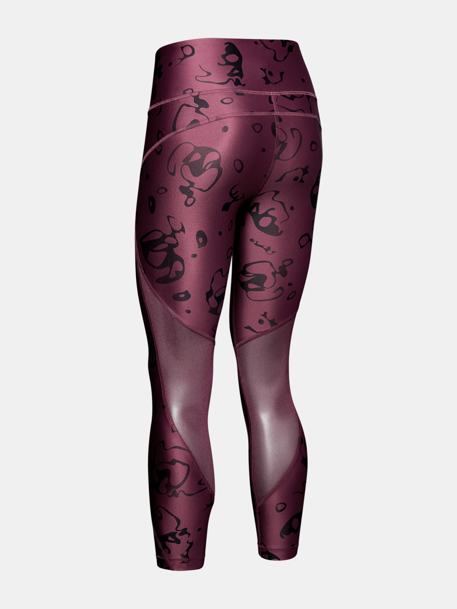 Legíny Under Armour HG Armour Ankle Crop - Ako Print-Purp (4)