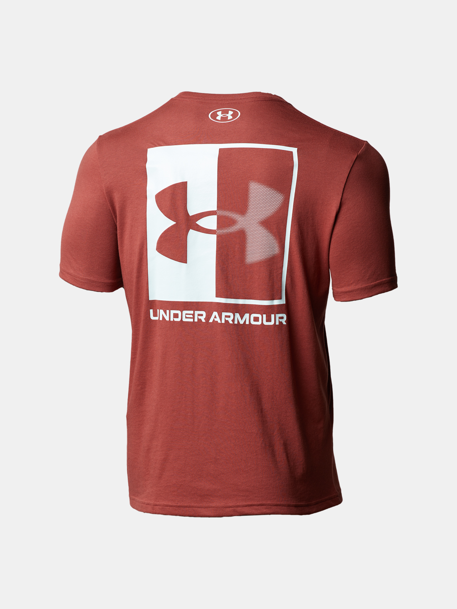 Tričko Under Armour UA BOX LOGO SS-RED (2)
