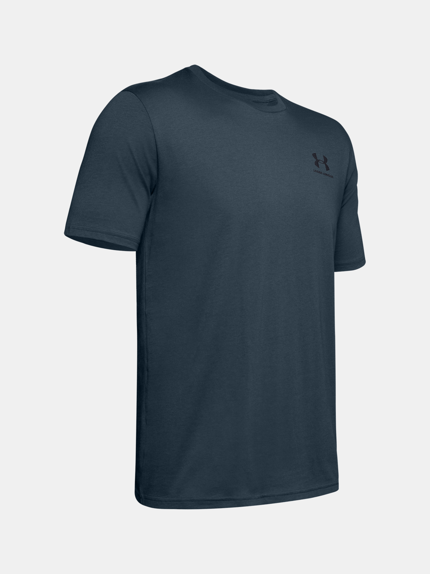 Tričko Under Armour SPORTSTYLE LC SS-BLU (3)