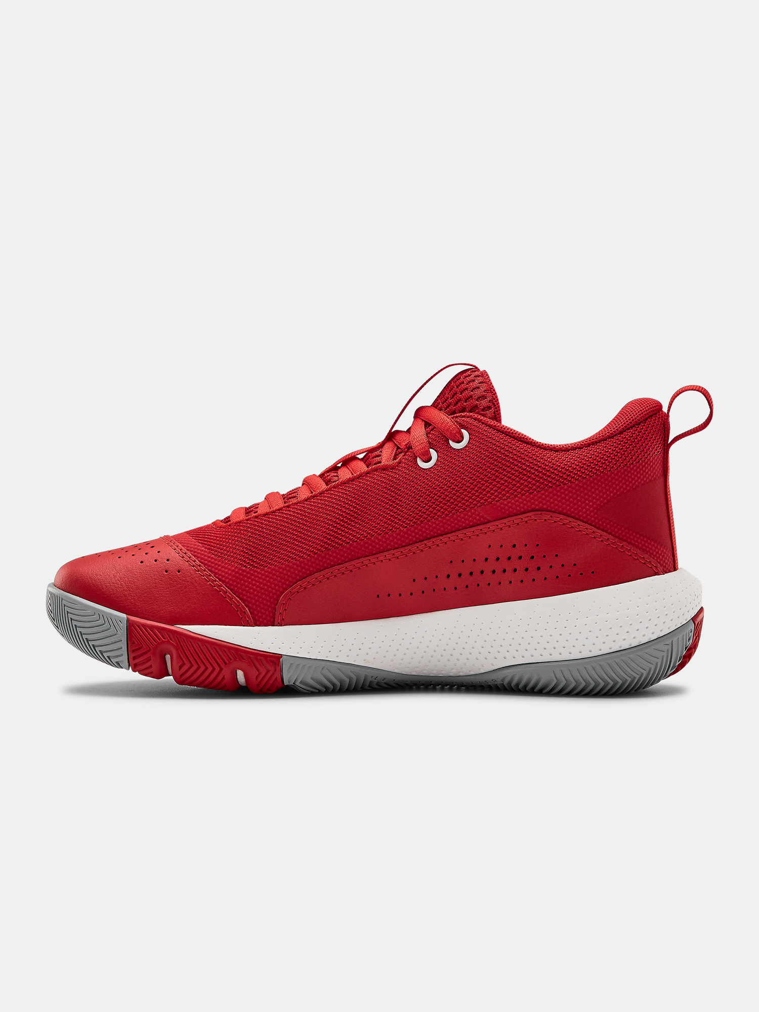 Boty Under Armour GS SC 3ZER0 IV-RED (2)