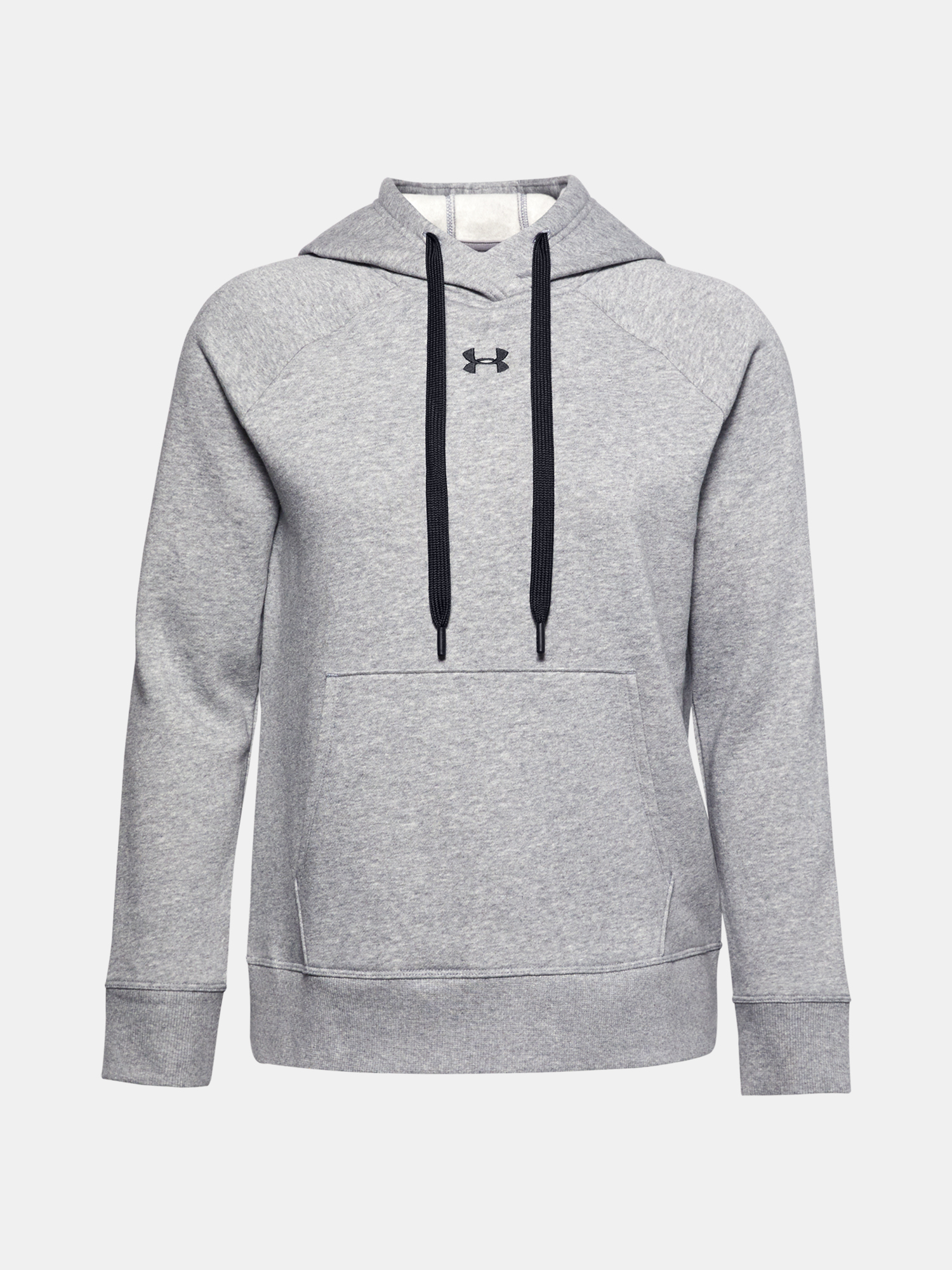 Mikina Under Armour Rival Fleece HB Hoodie-GRY (3)