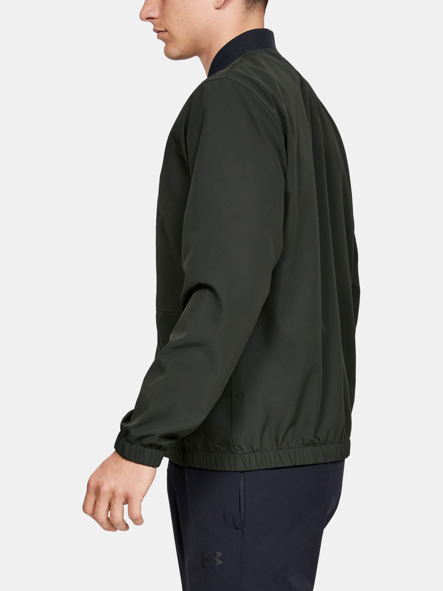 Bunda Under Armour Unstoppable Essential Bomber-Grn (5)