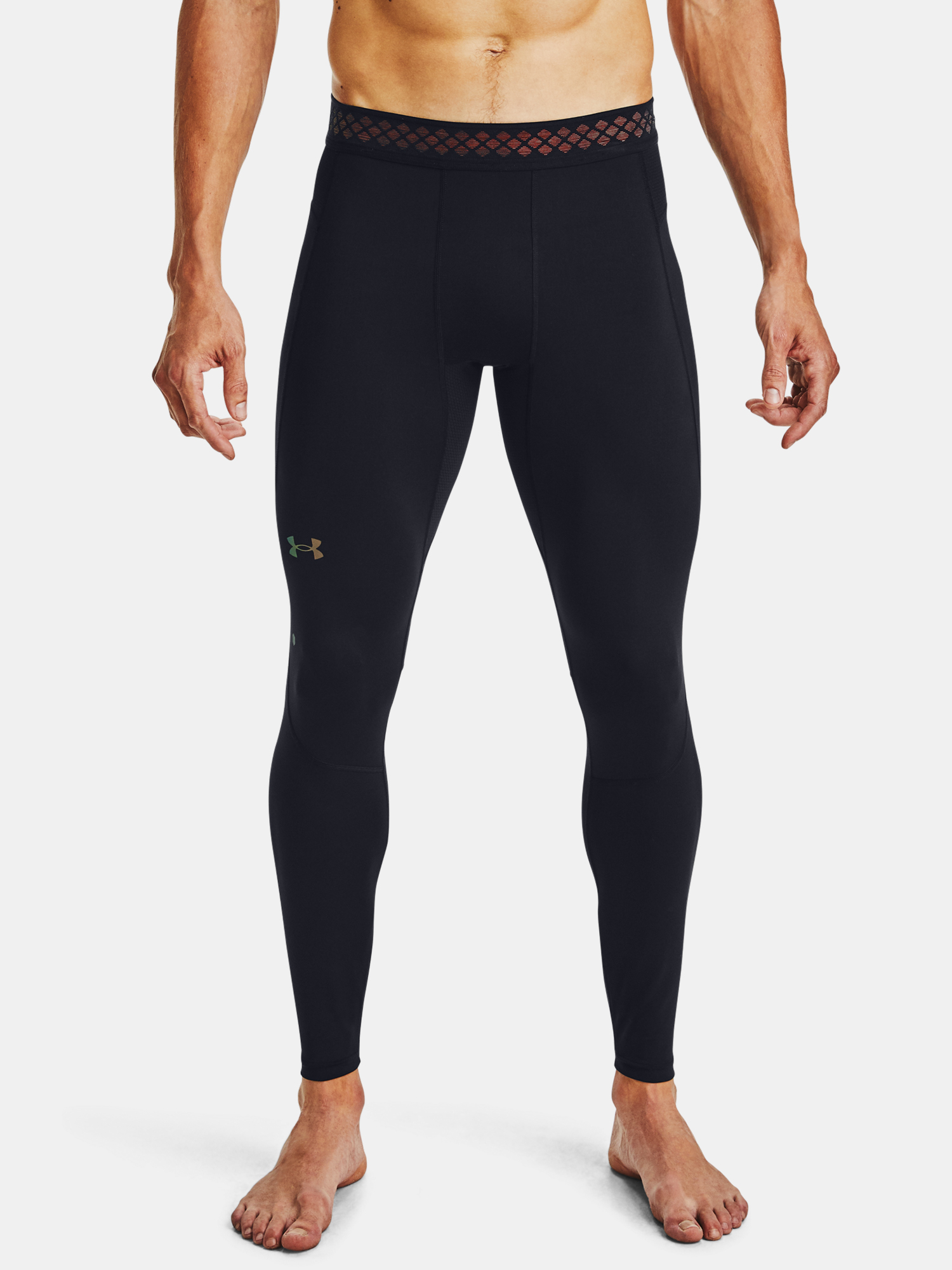 Legíny Under Armour UA RUSH HG 2.0 Leggings-BLK (1)