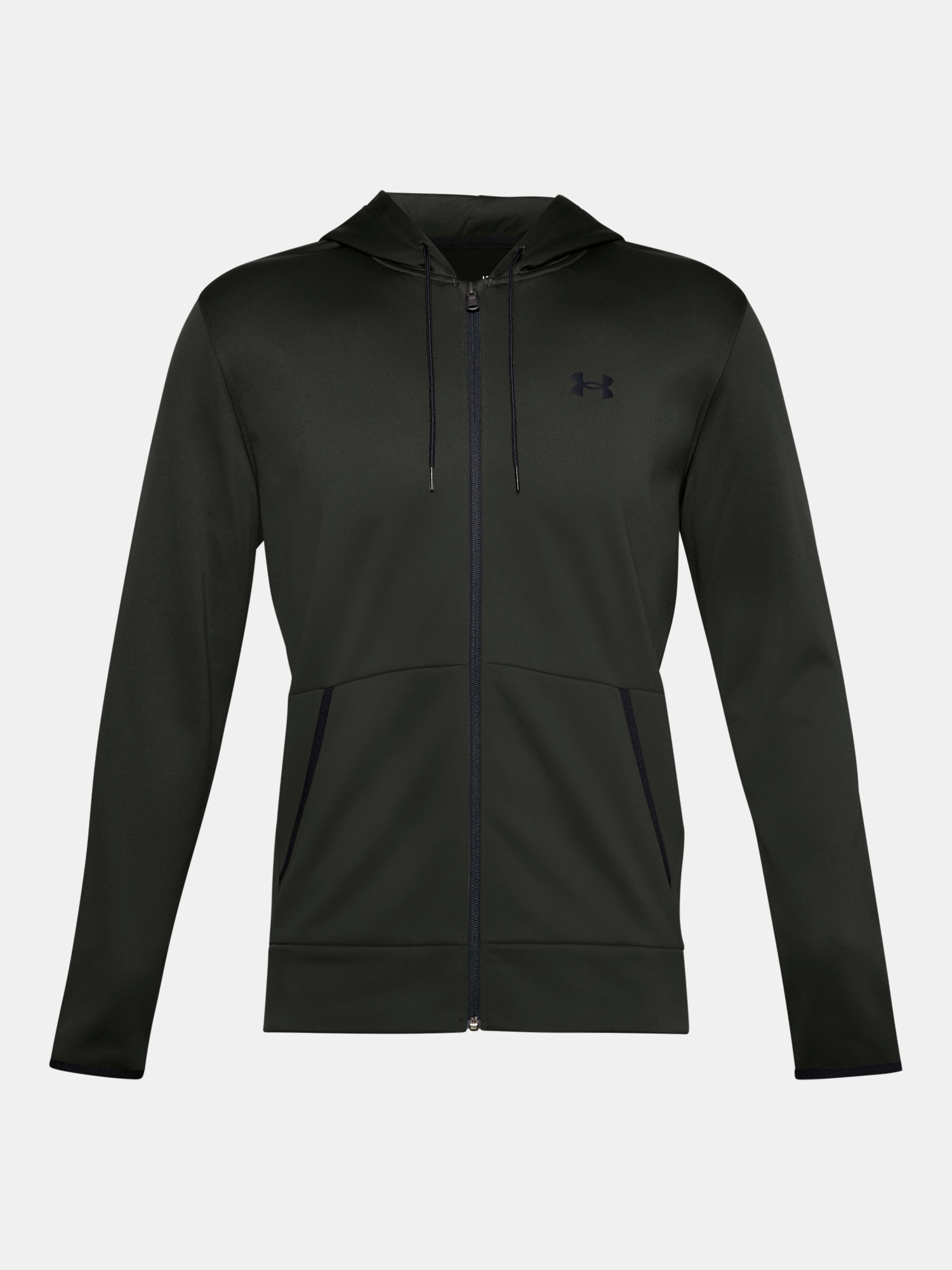 Mikina Under Armour Armour Fleece FZ Hoodie-GRN (3)