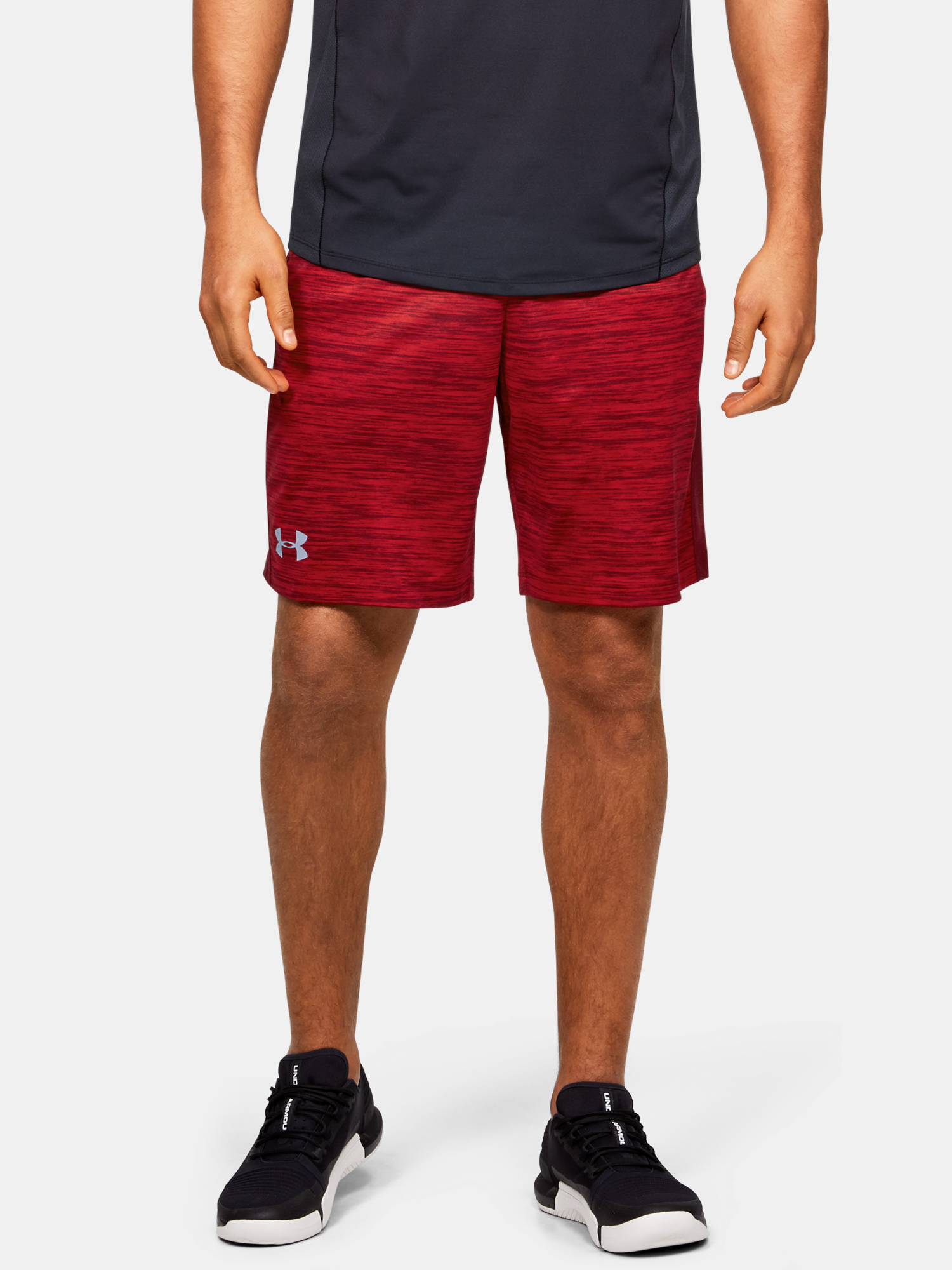 Kraťasy Under Armour MK1 Twist Shorts-RED (1)