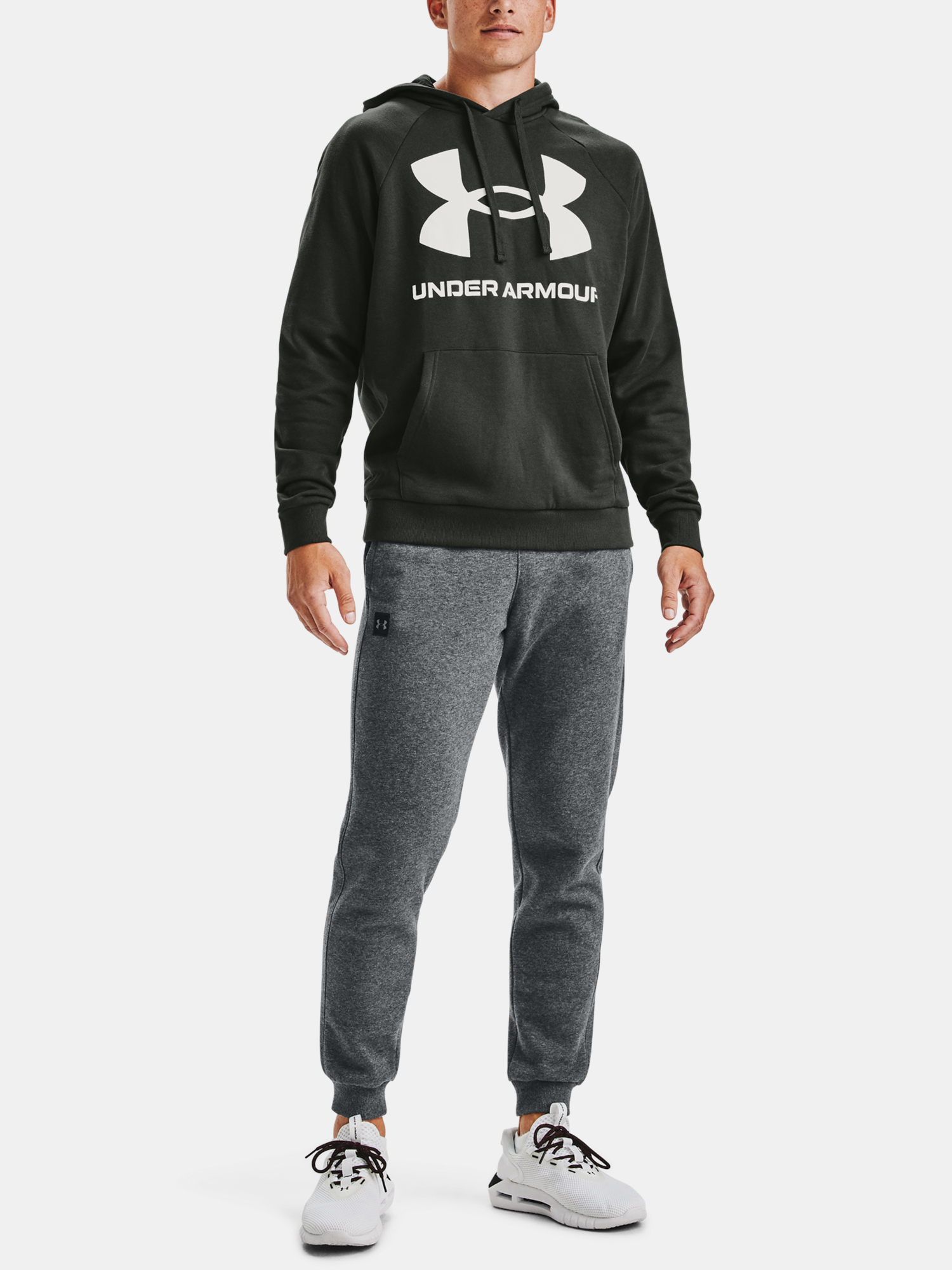 Mikina Under Armour Rival Fleece Big Logo HD (6)