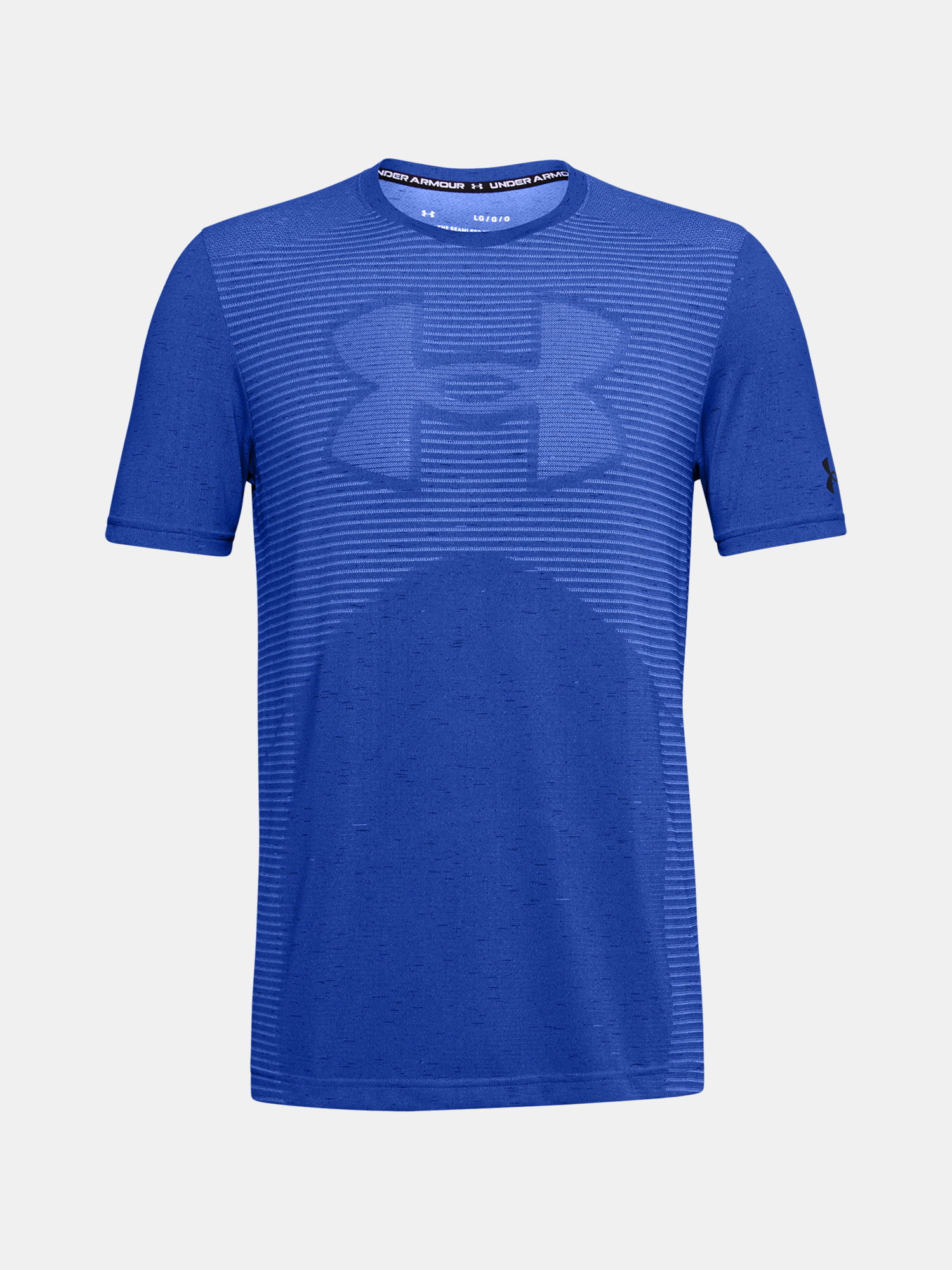 Tričko Under Armour Seamless Logo SS-BLU (3)